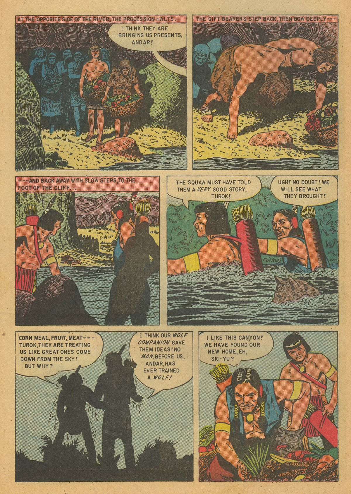 Read online Turok, Son of Stone comic -  Issue #7 - 16