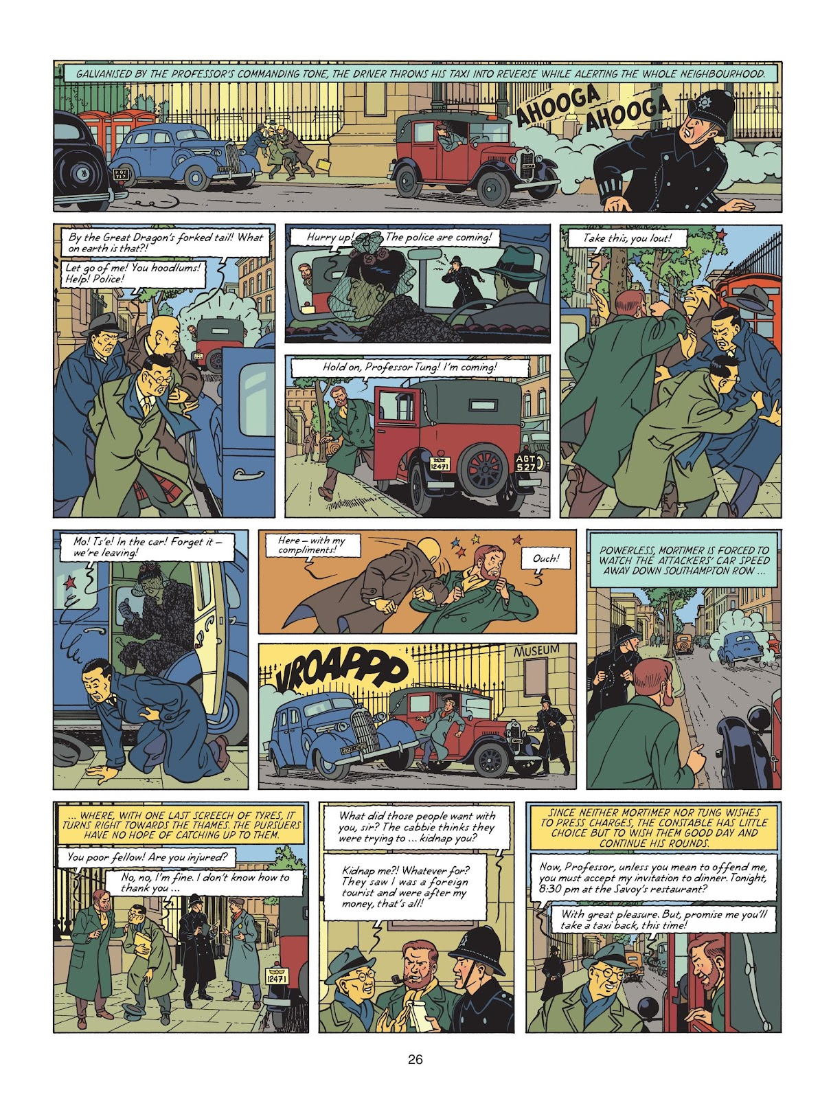 Read online Blake & Mortimer comic -  Issue #25 - 28