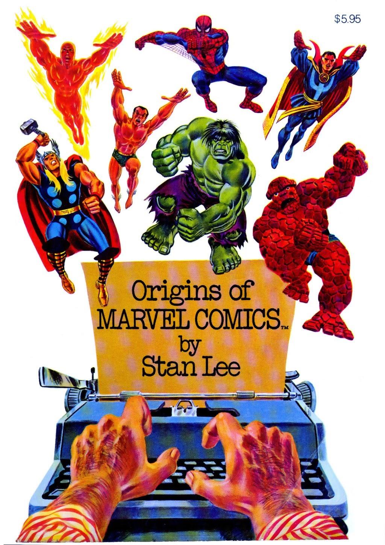Origins of Marvel Comics (1974) TPB Page 1
