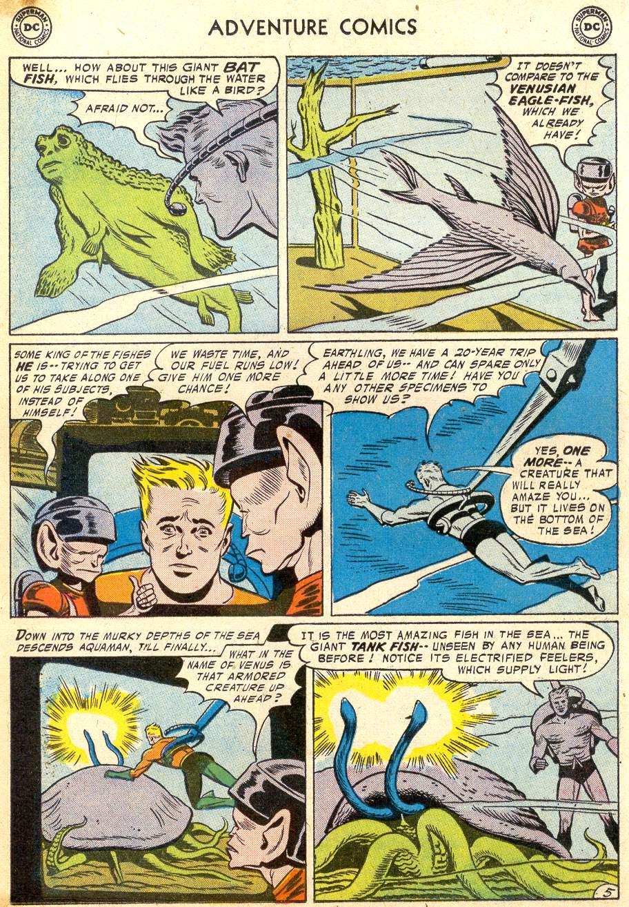 Read online Adventure Comics (1938) comic -  Issue #215 - 21