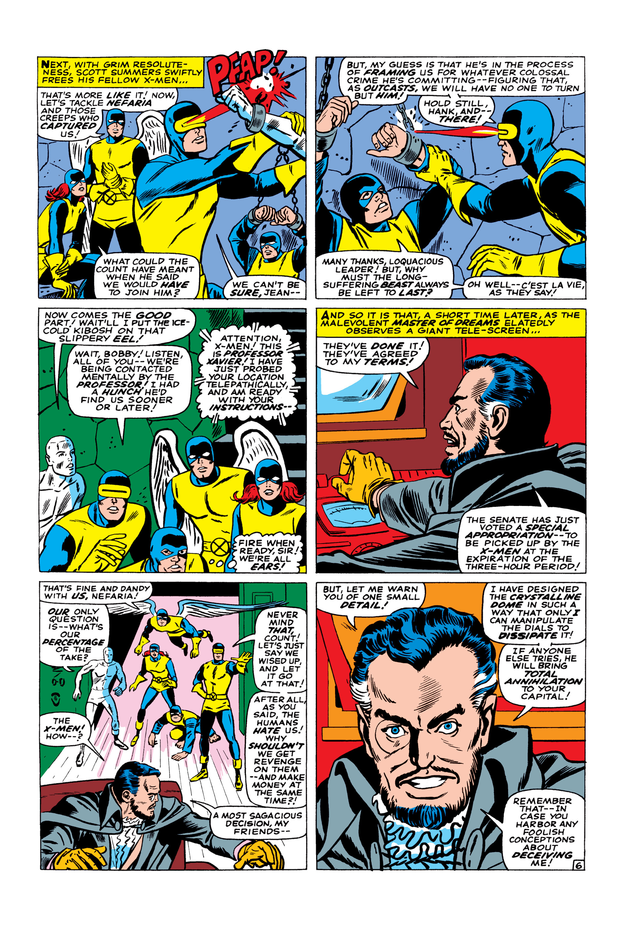 Read online Uncanny X-Men (1963) comic -  Issue #23 - 7