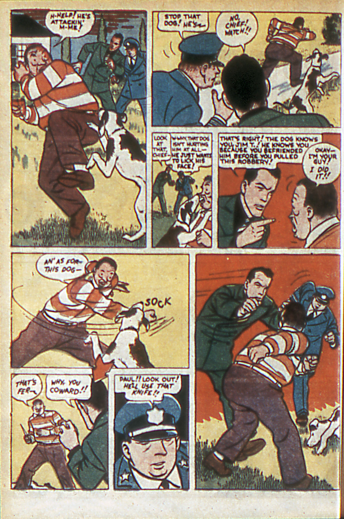 Read online Adventure Comics (1938) comic -  Issue #60 - 45
