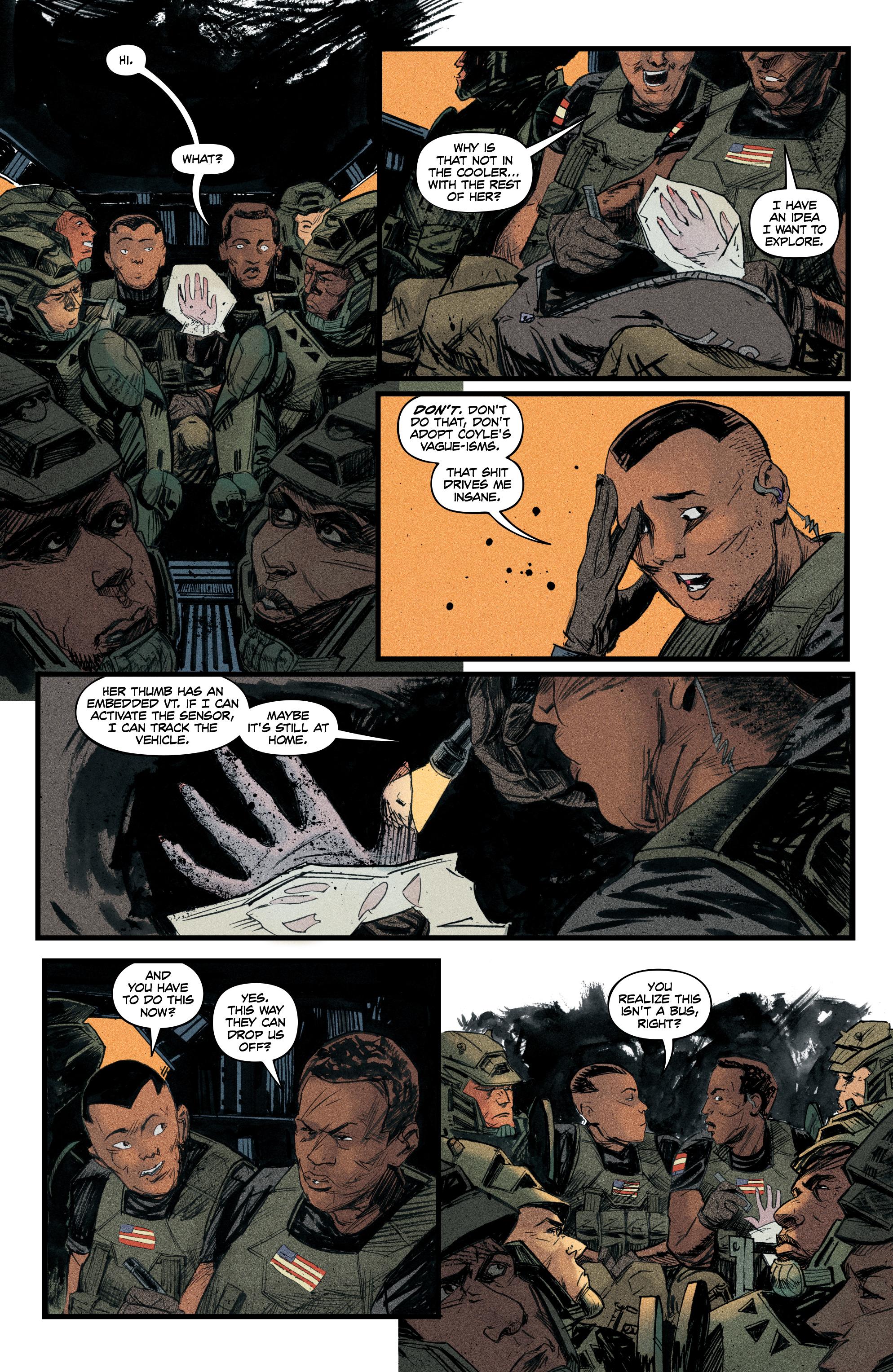 Read online Redline comic -  Issue #4 - 15