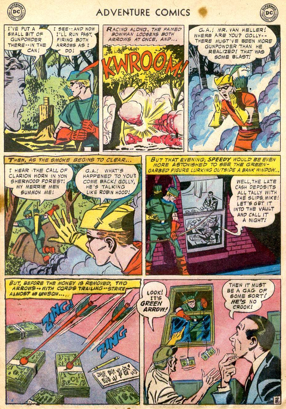 Read online Adventure Comics (1938) comic -  Issue #242 - 29