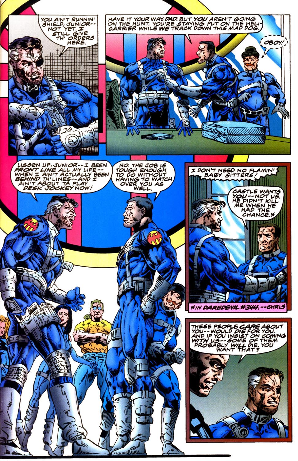 Read online Double Edge comic -  Issue # Issue Omega - 12