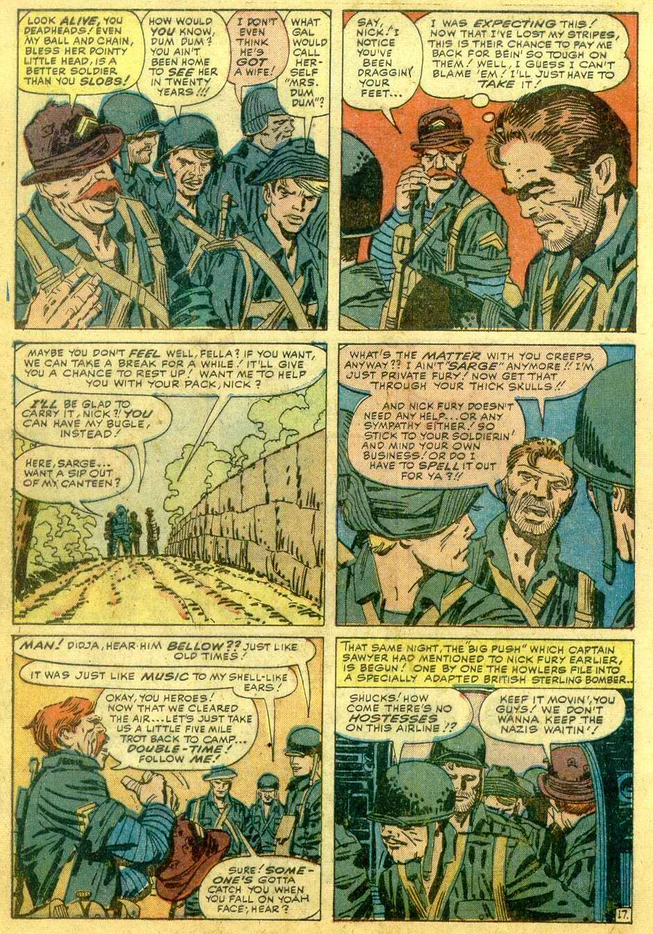 Read online Sgt. Fury comic -  Issue # _Annual 1 - 64