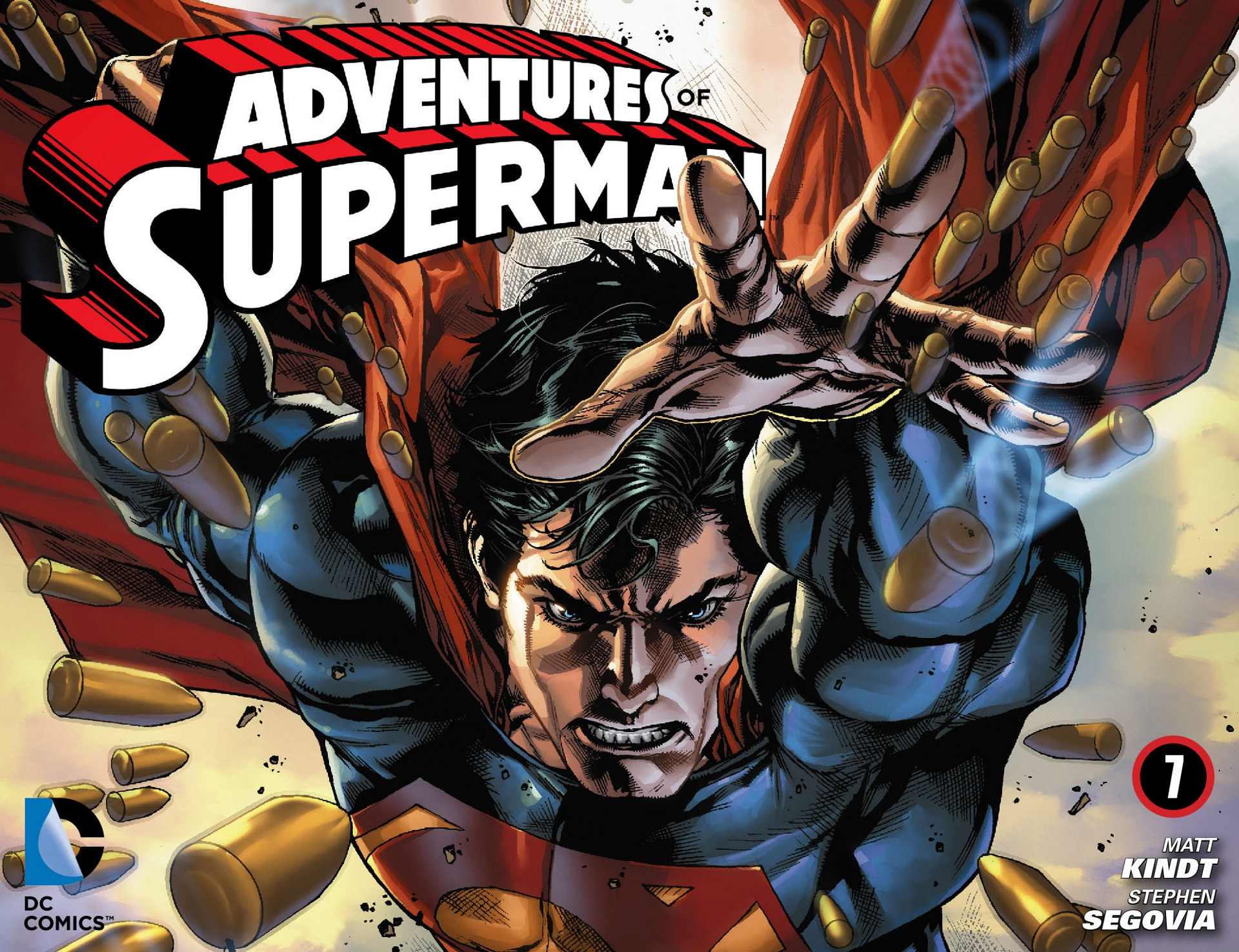 Read online Adventures of Superman [I] comic -  Issue #7 - 1