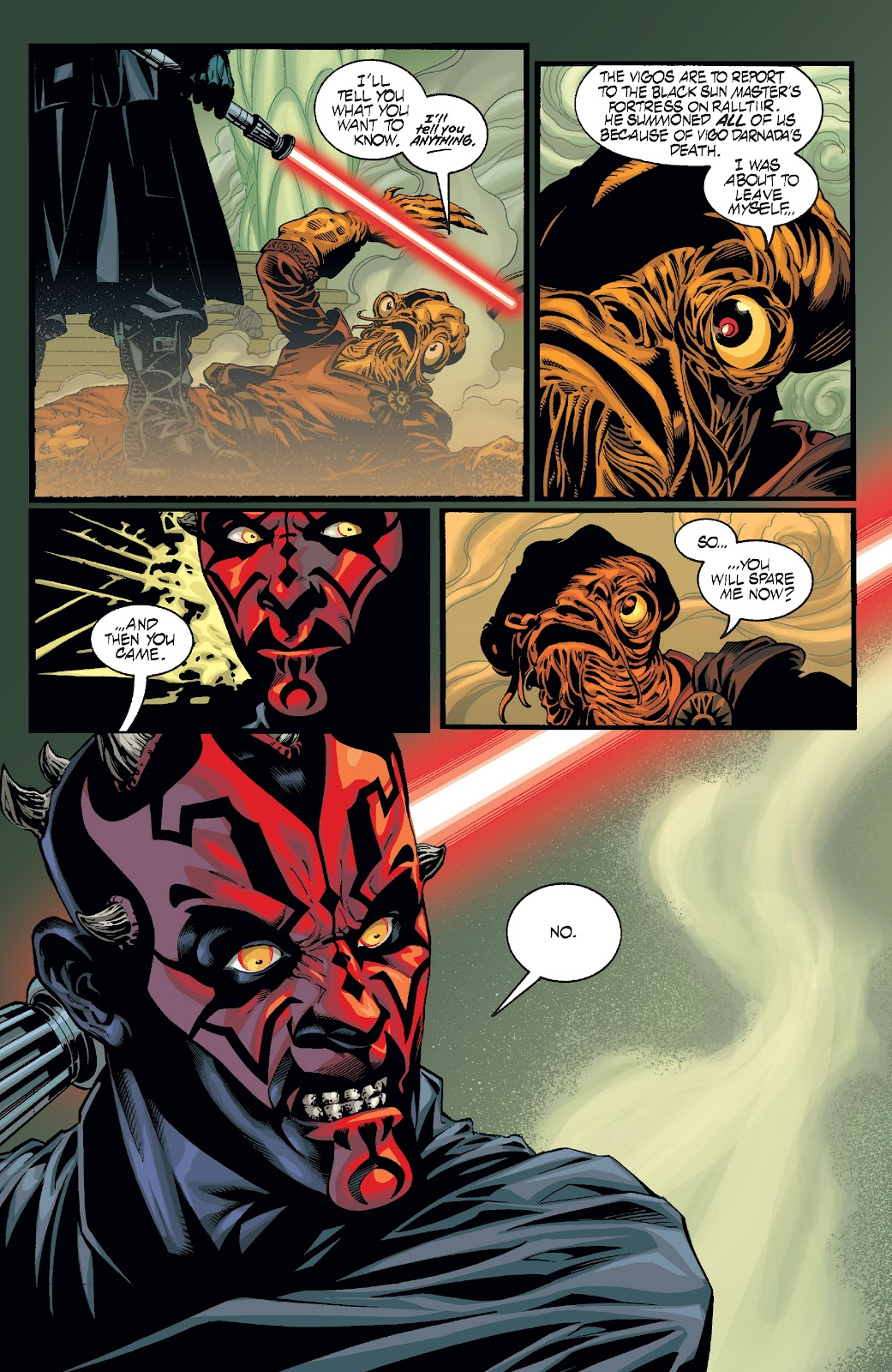 Read online Star Wars Legends: Rise of the Sith - Epic Collection comic -  Issue # TPB 2 (Part 2) - 88