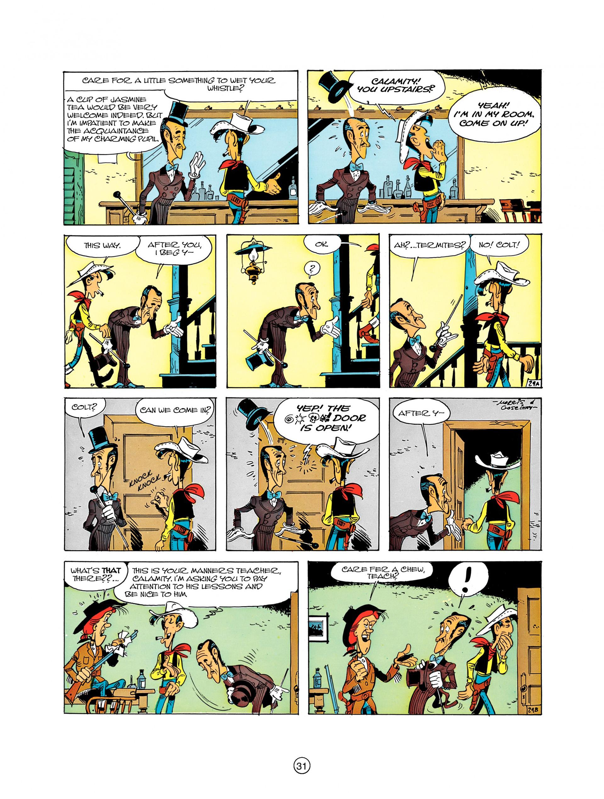 Read online A Lucky Luke Adventure comic -  Issue #8 - 31