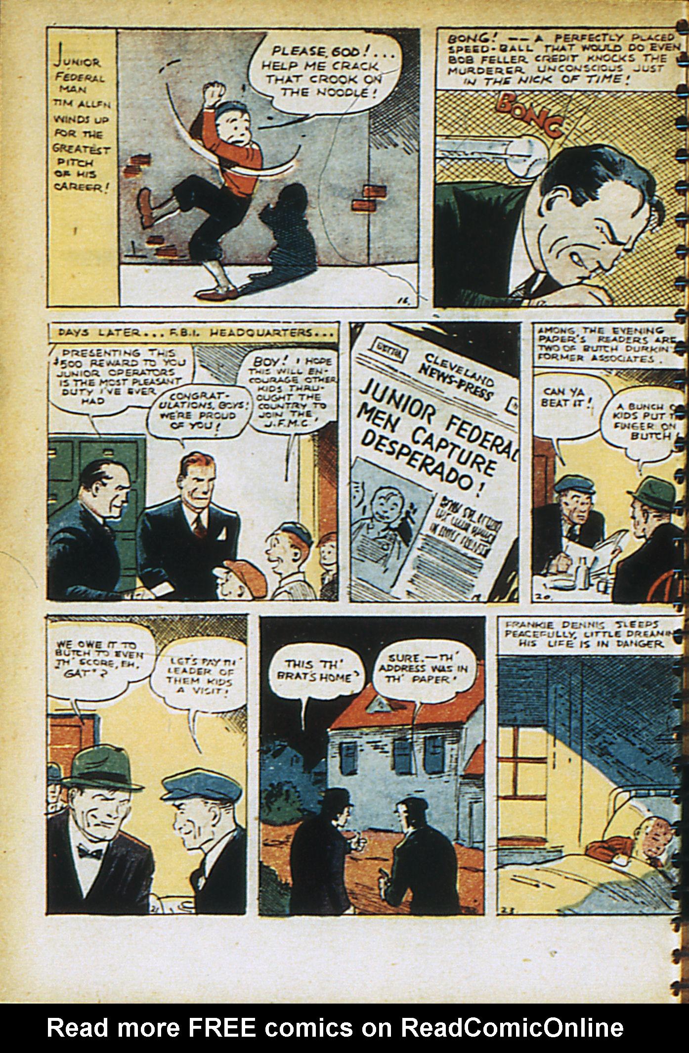 Read online Adventure Comics (1938) comic -  Issue #30 - 19