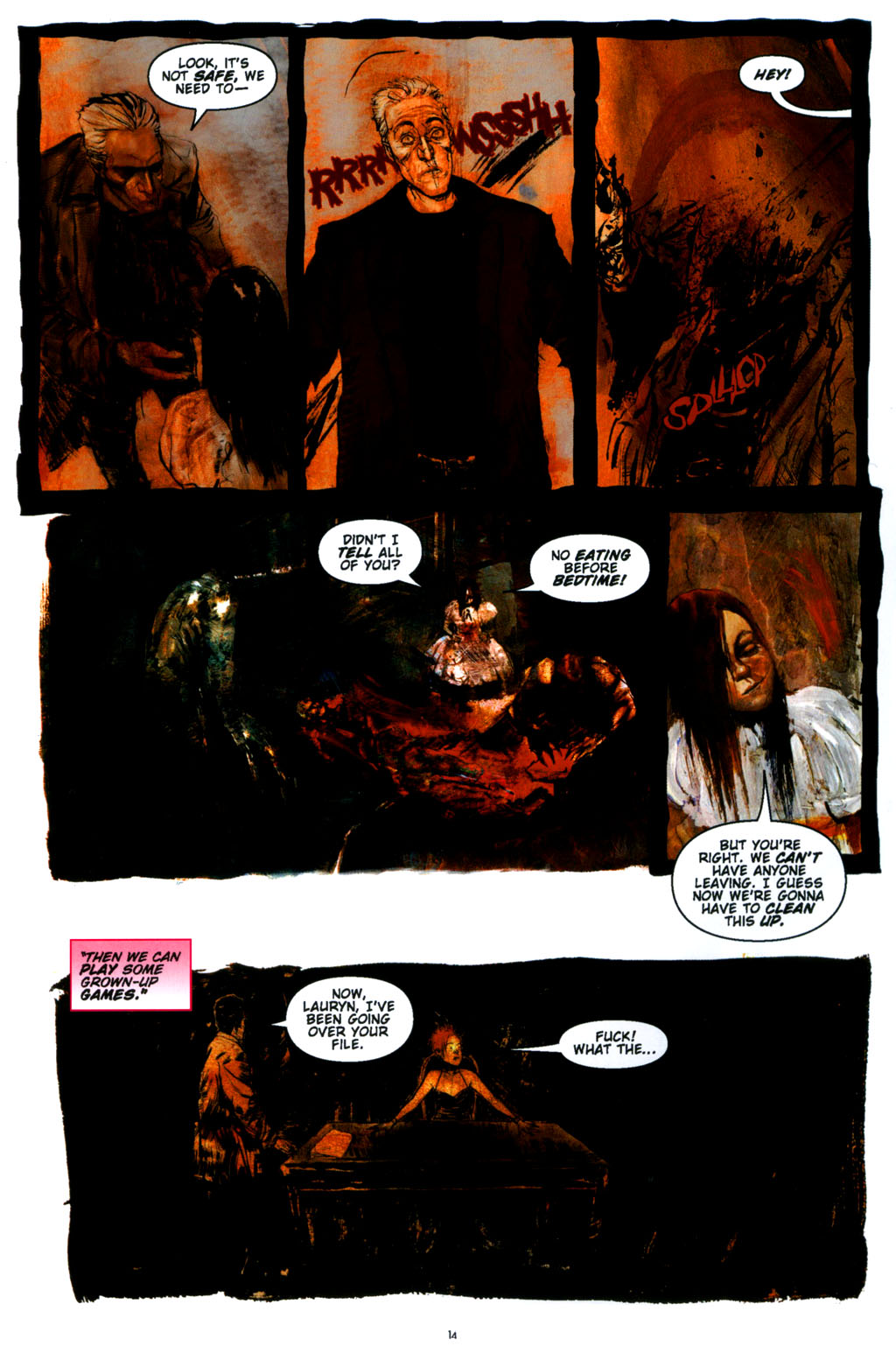 Read online Silent Hill: Dying Inside comic -  Issue #3 - 14