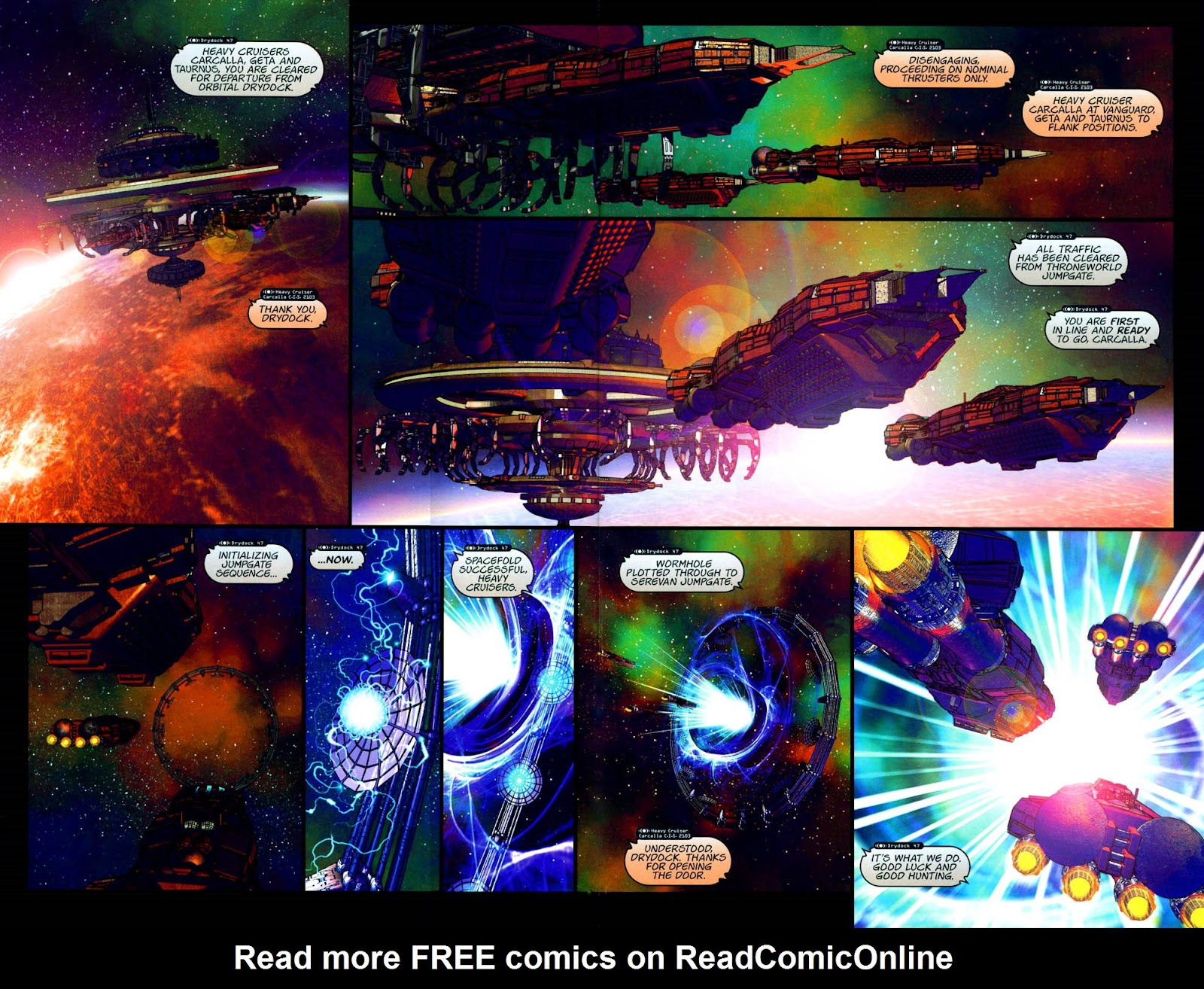 Read online Chimera comic -  Issue #2 - 4