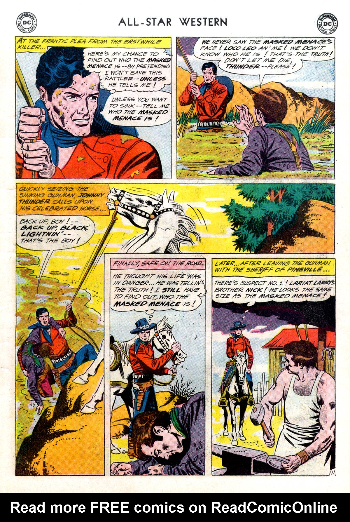 Read online All-Star Western (1951) comic -  Issue #116 - 15