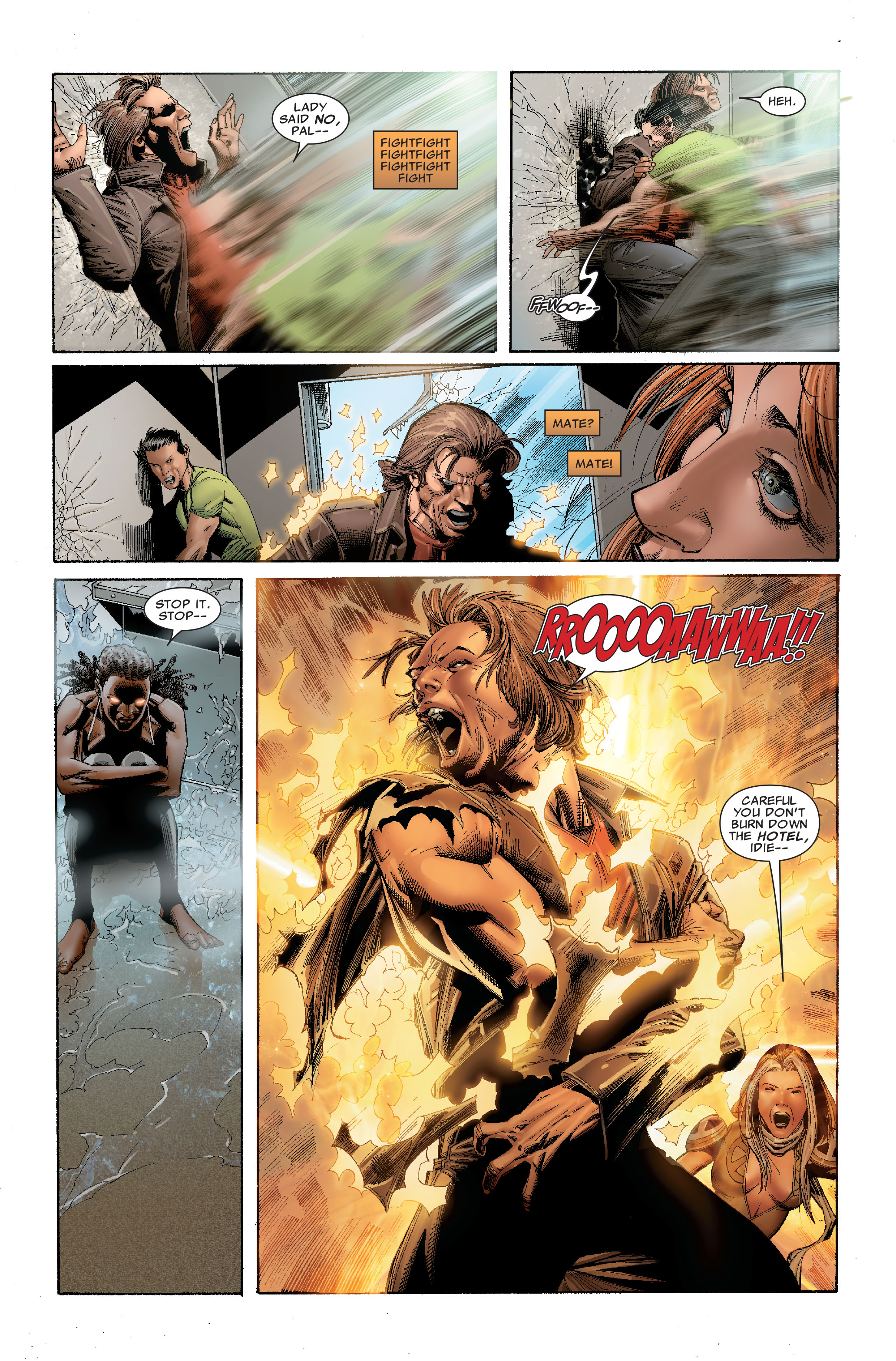 Read online Uncanny X-Men (1963) comic -  Issue #529 - 16