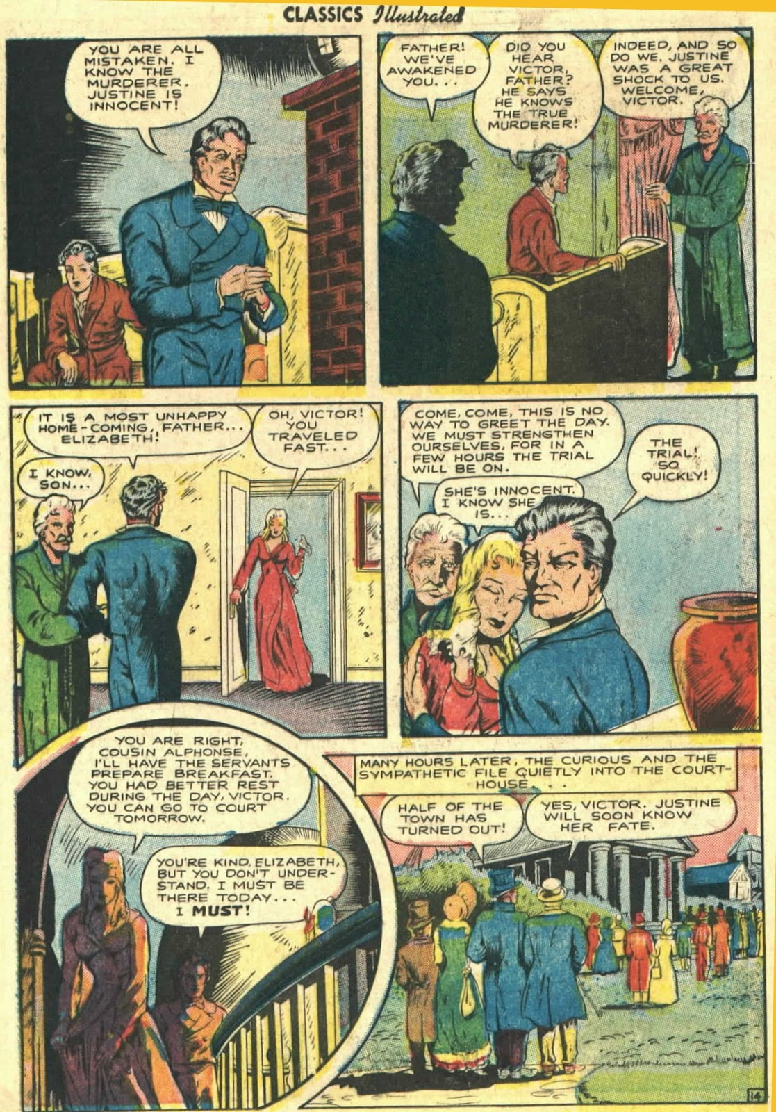 Classics Illustrated issue 26 - Page 16