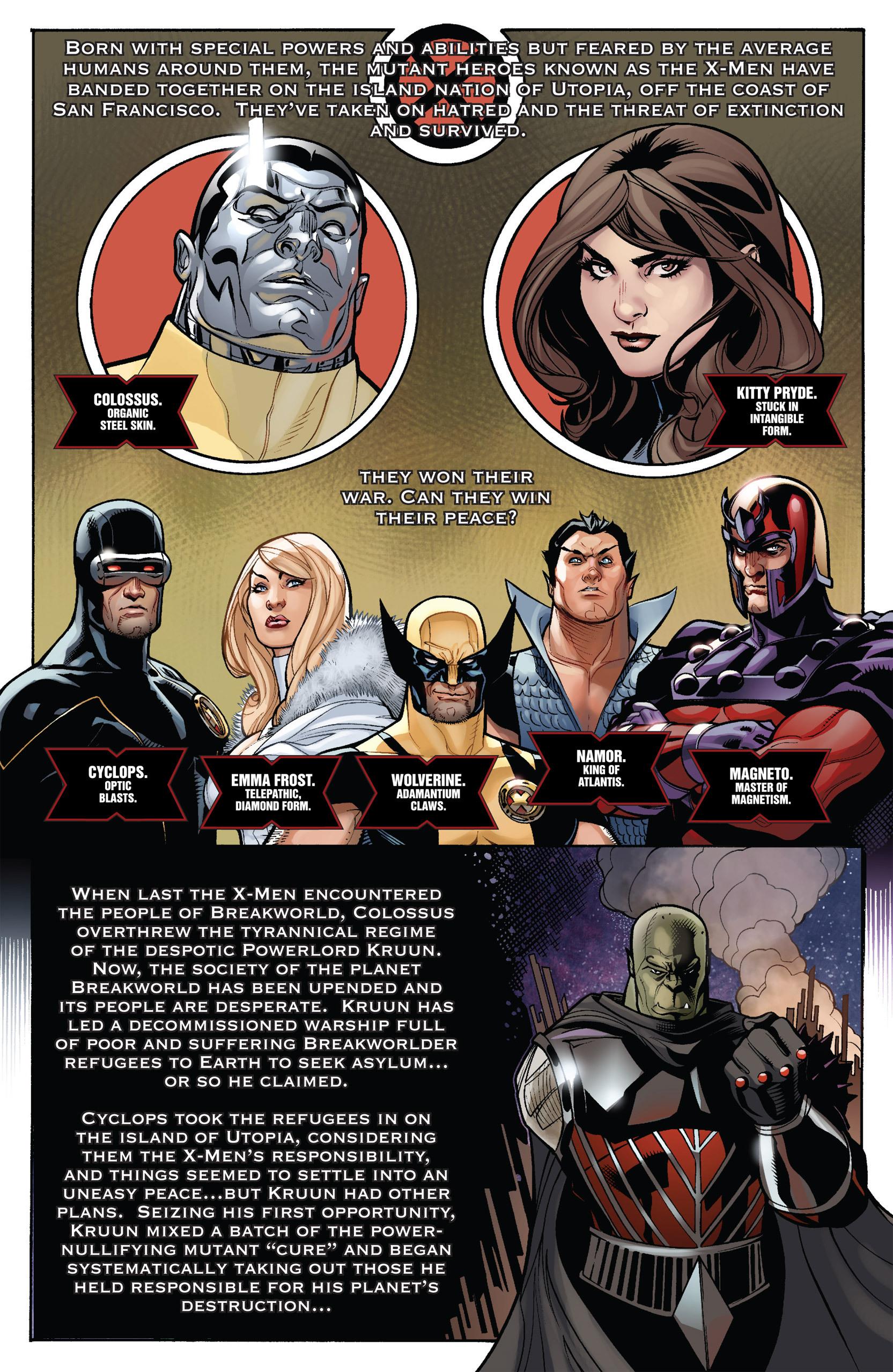 Read online Uncanny X-Men (1963) comic -  Issue #537 - 2