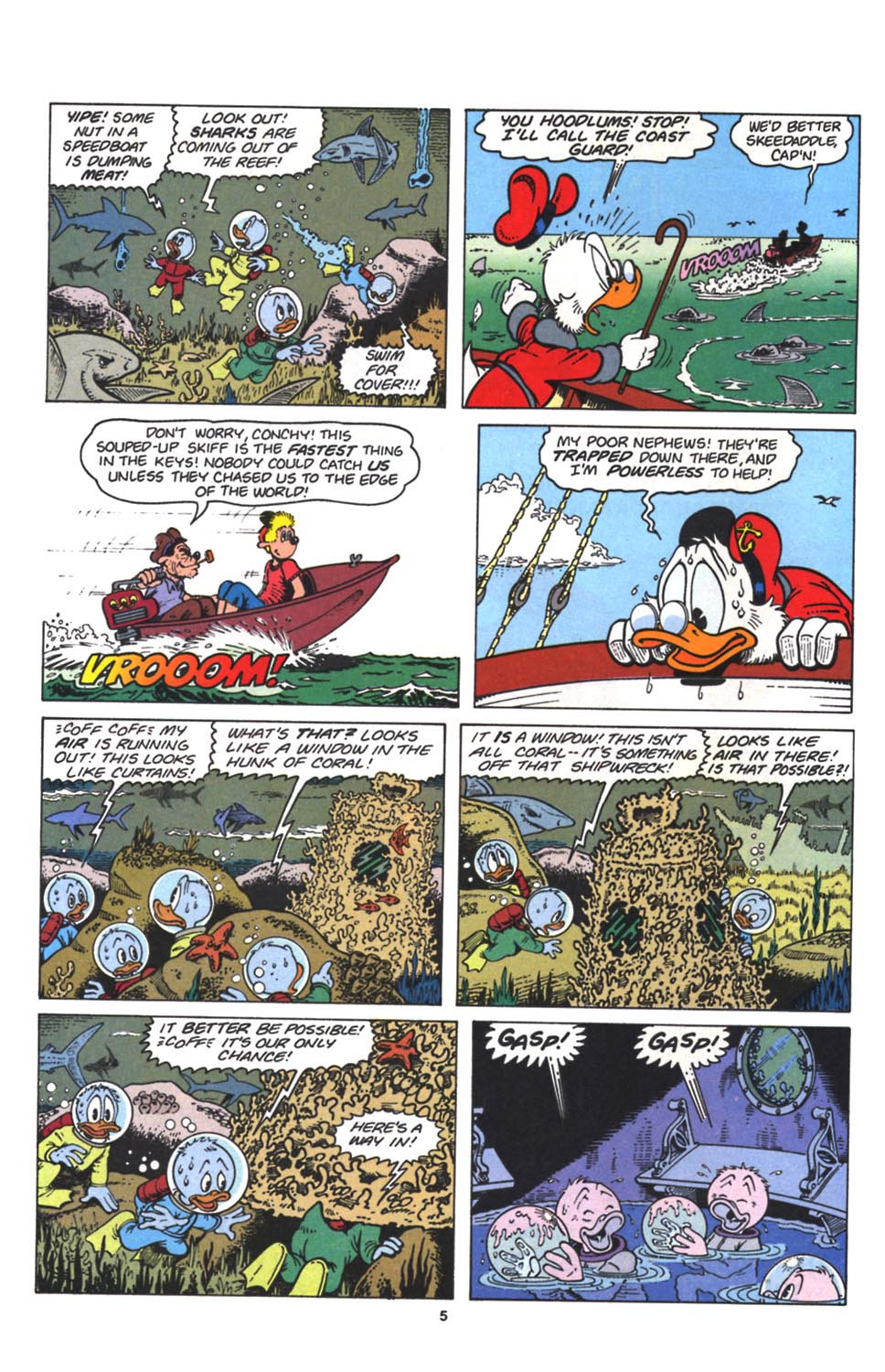Read online Uncle Scrooge (1953) comic -  Issue #263 - 6