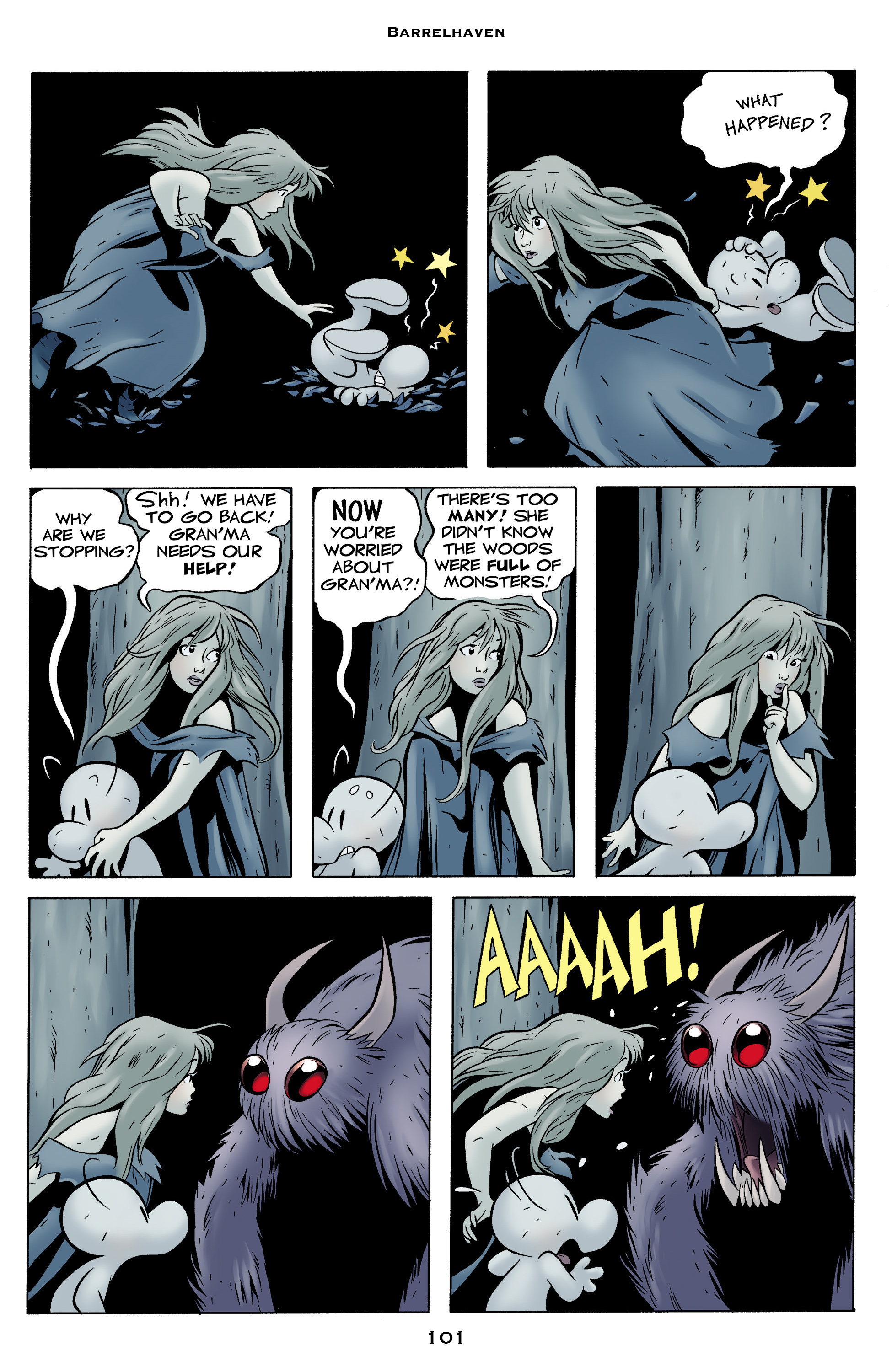 Read online Bone: Out From Boneville comic -  Issue # TPB - 101