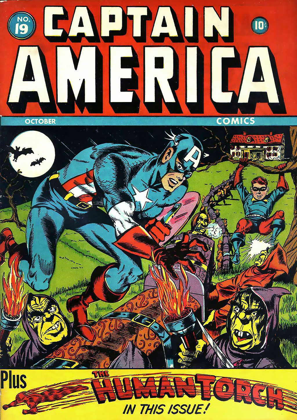 Captain America Comics 19 Page 1