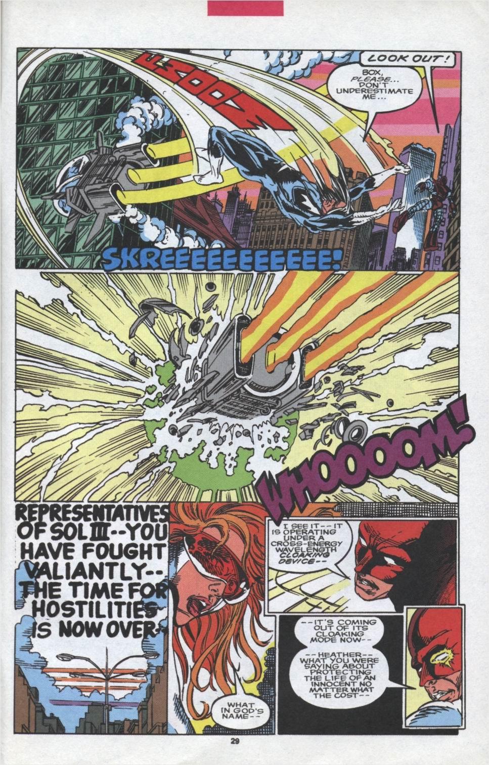 Read online Alpha Flight (1983) comic -  Issue #97 - 22