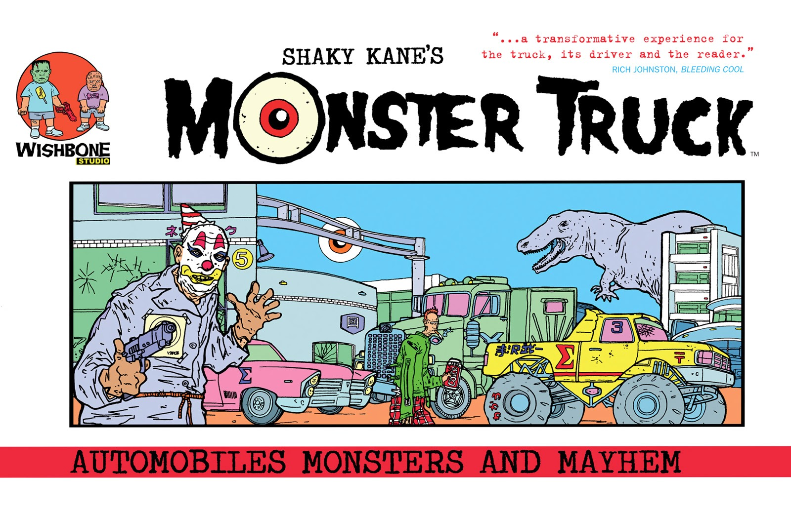 Shaky Kanes Monster Truck TPB Page 1