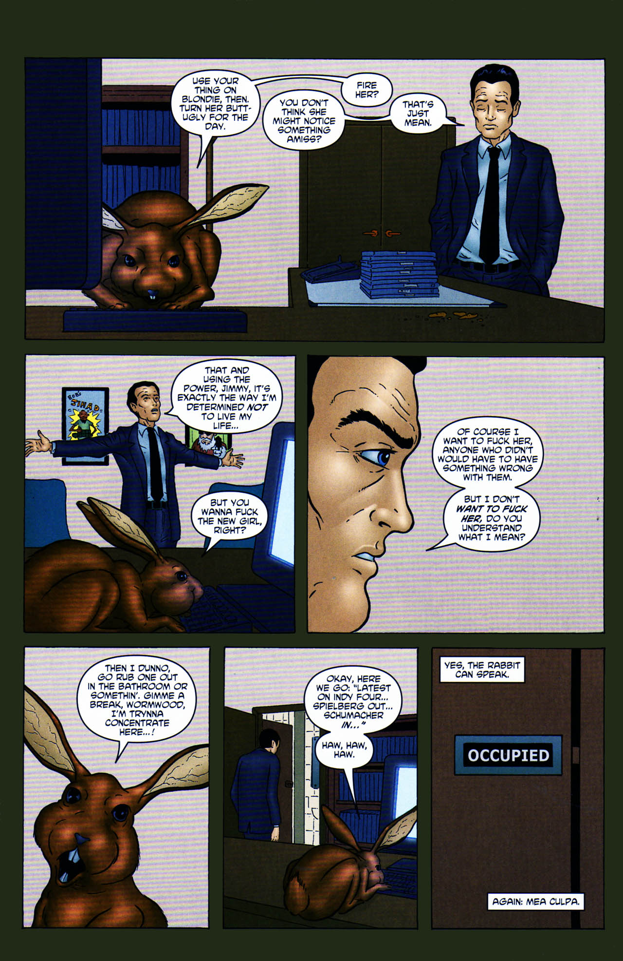 Read online Chronicles of Wormwood: The Last Enemy comic -  Issue # Full - 8