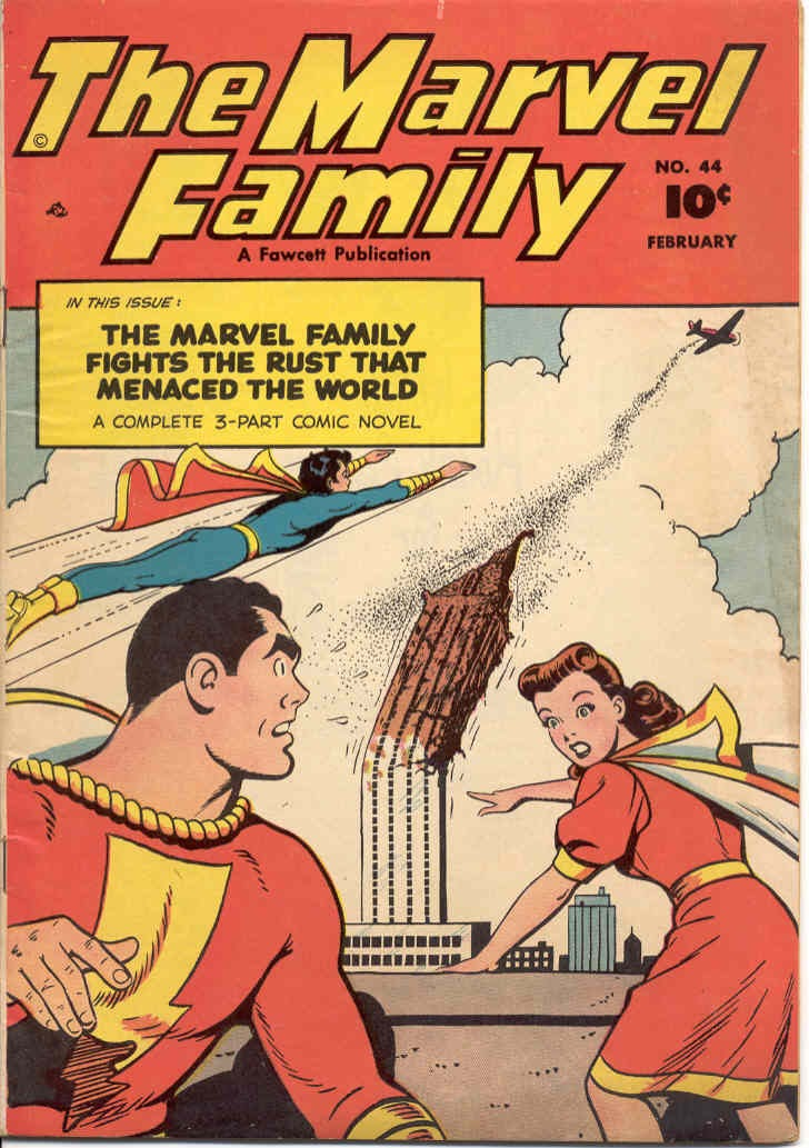 The Marvel Family issue 44 - Page 1