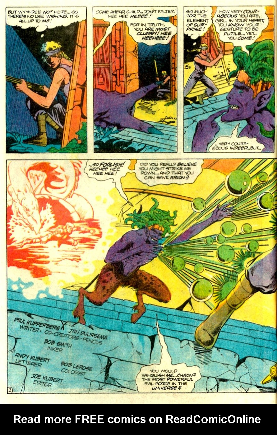 Read online Arion, Lord of Atlantis comic -  Issue #15 - 3