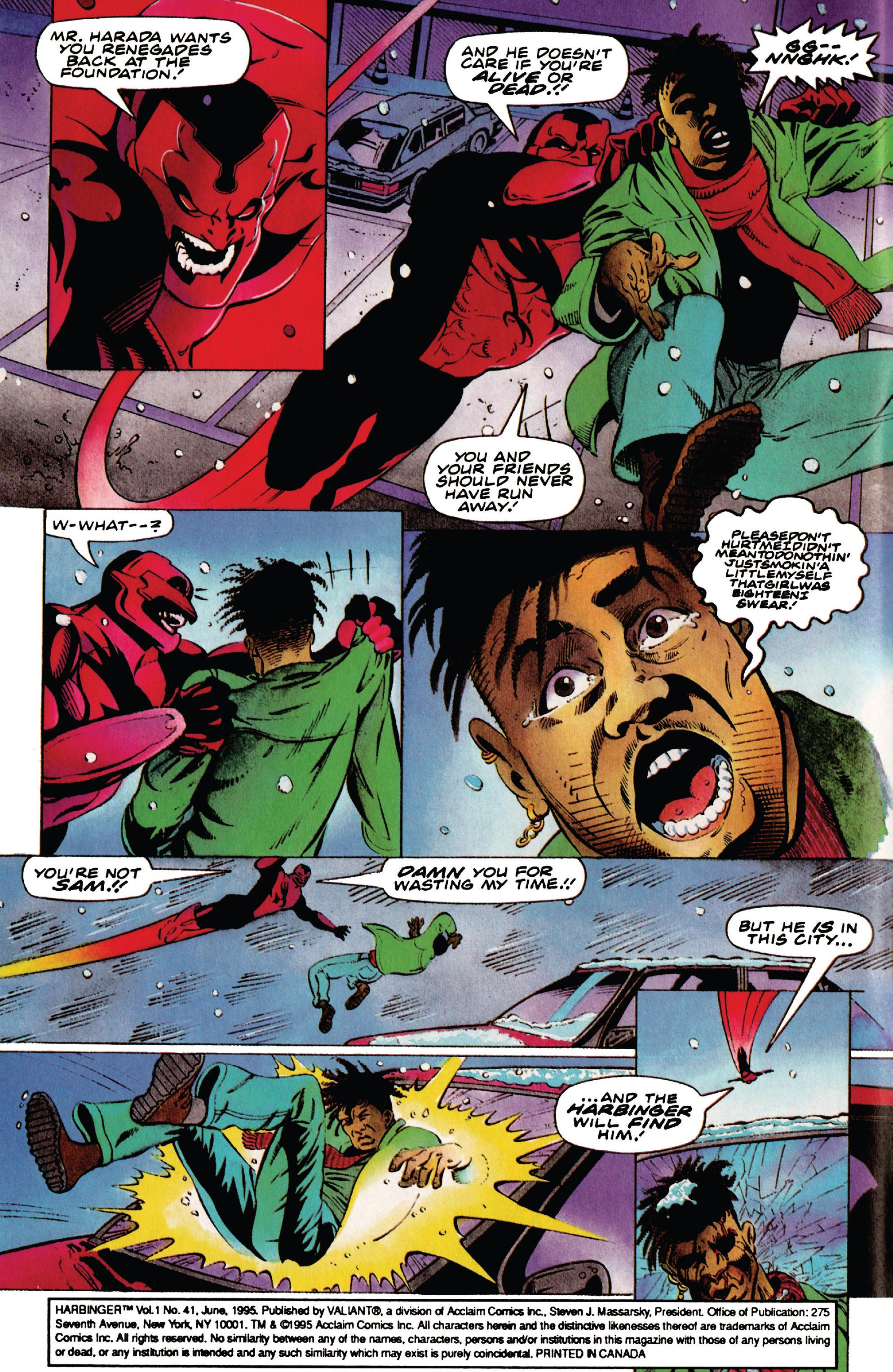 Read online Harbinger (1992) comic -  Issue #41 - 3