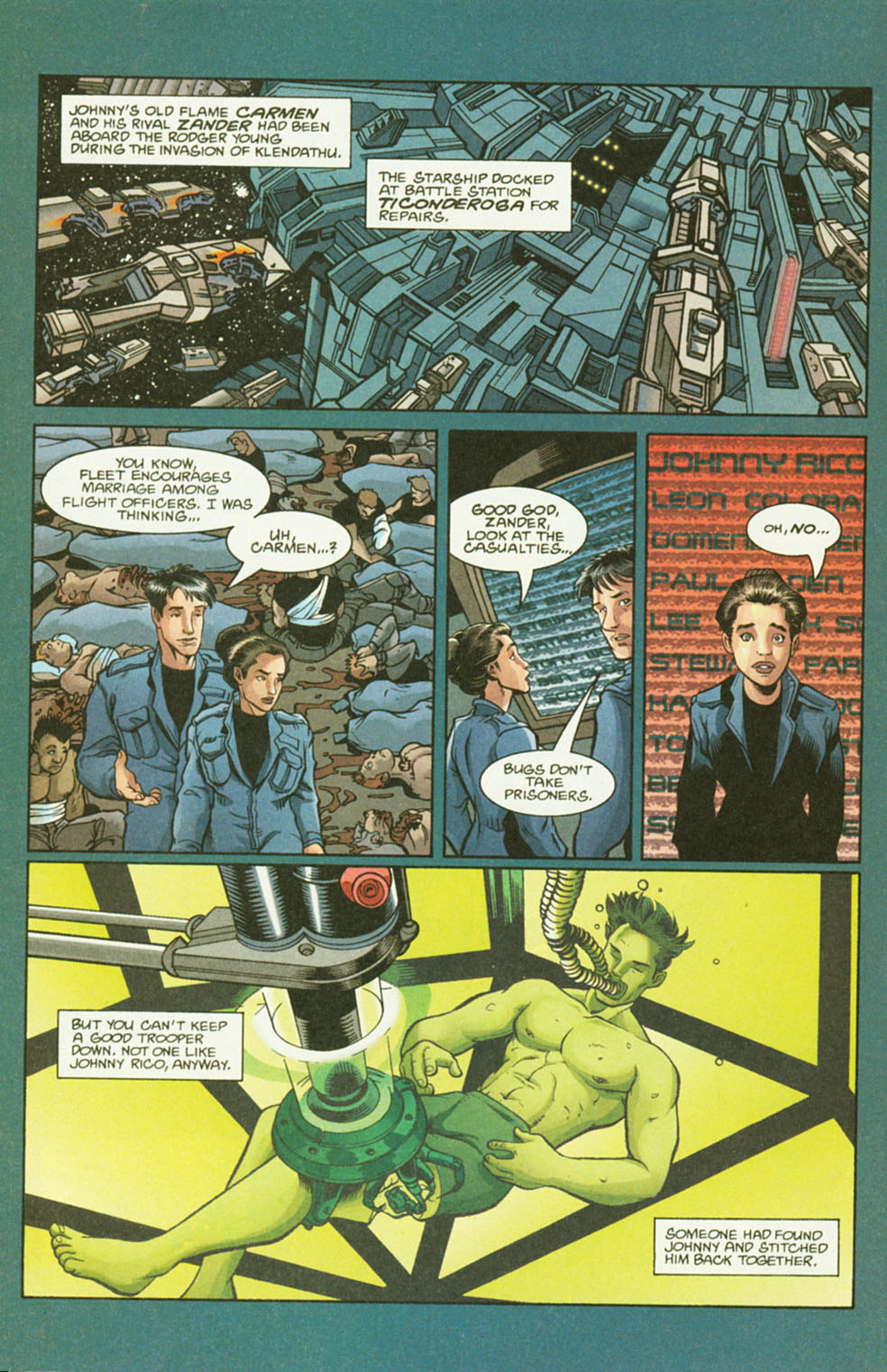 Read online Starship Troopers comic -  Issue #2 - 4