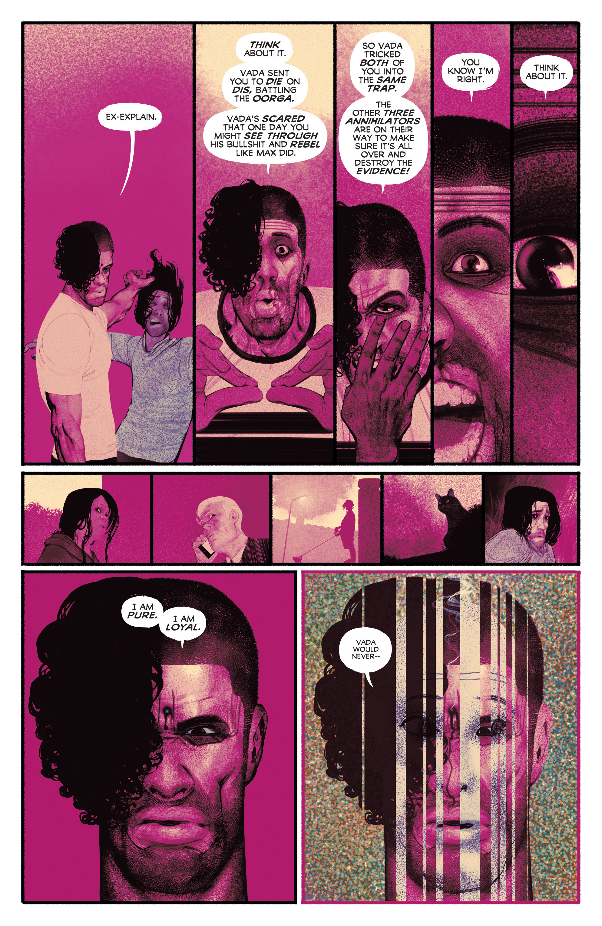 Read online Annihilator comic -  Issue #6 - 9