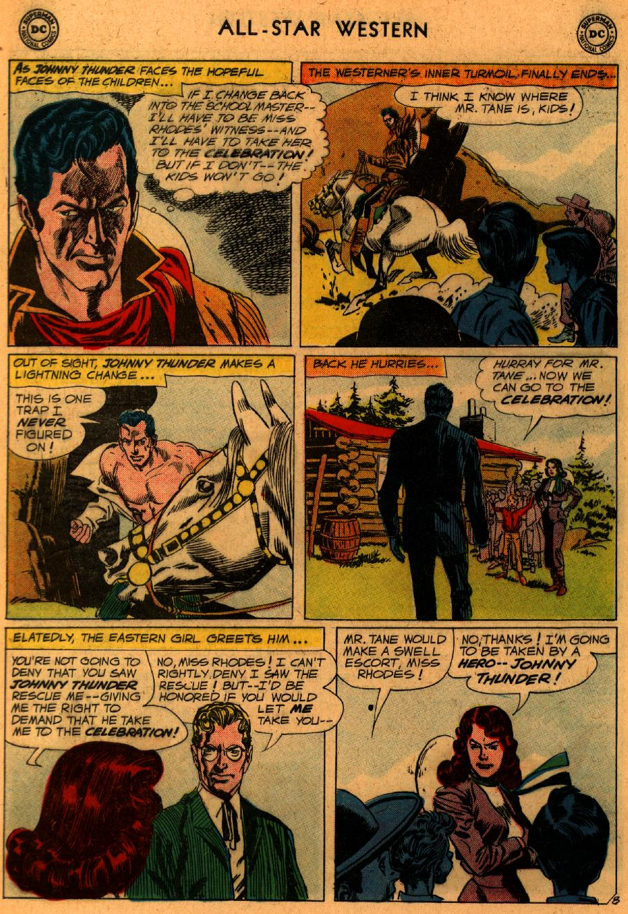 Read online All-Star Western (1951) comic -  Issue #107 - 10