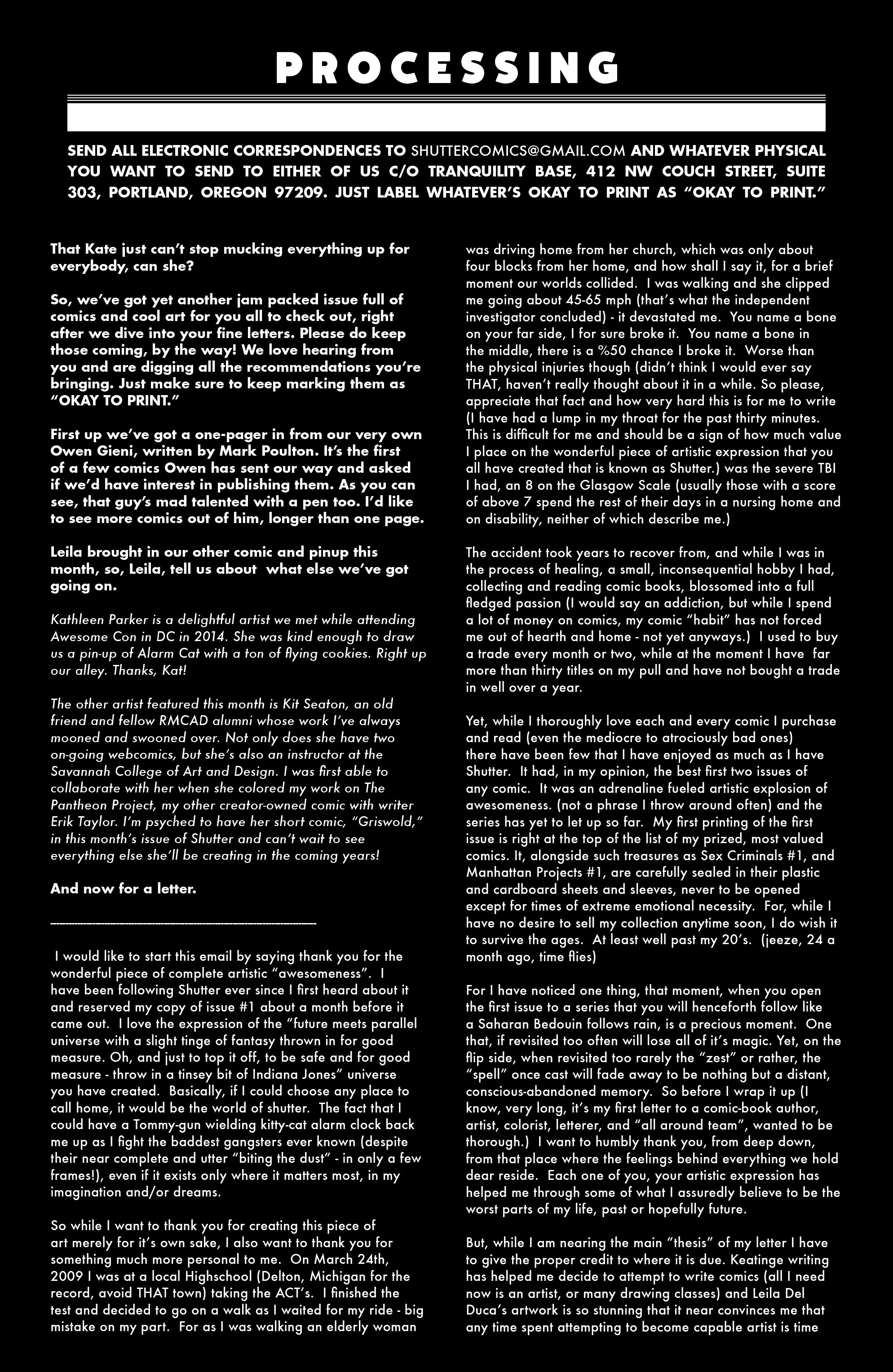 Read online Shutter comic -  Issue #9 - 23