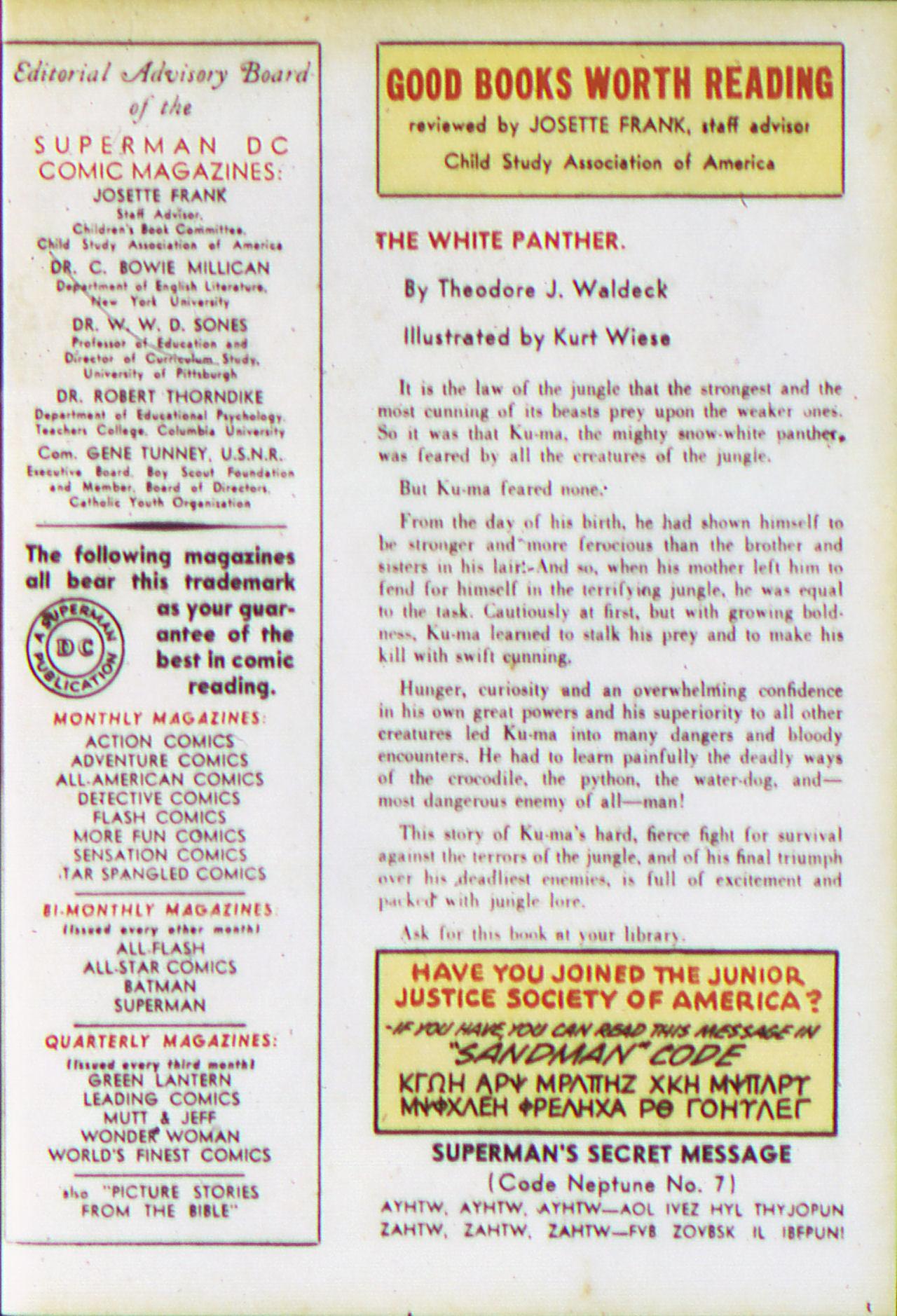 Read online Adventure Comics (1938) comic -  Issue #81 - 25