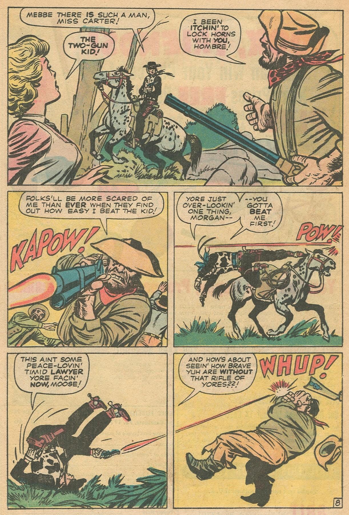 Read online Two-Gun Kid comic -  Issue #130 - 16