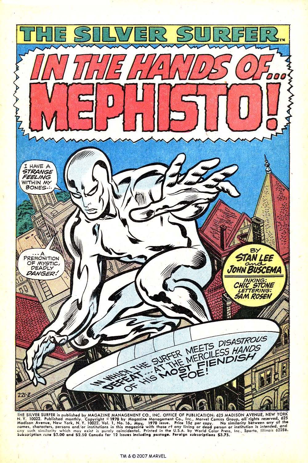 Read online Silver Surfer (1968) comic -  Issue #16 - 3