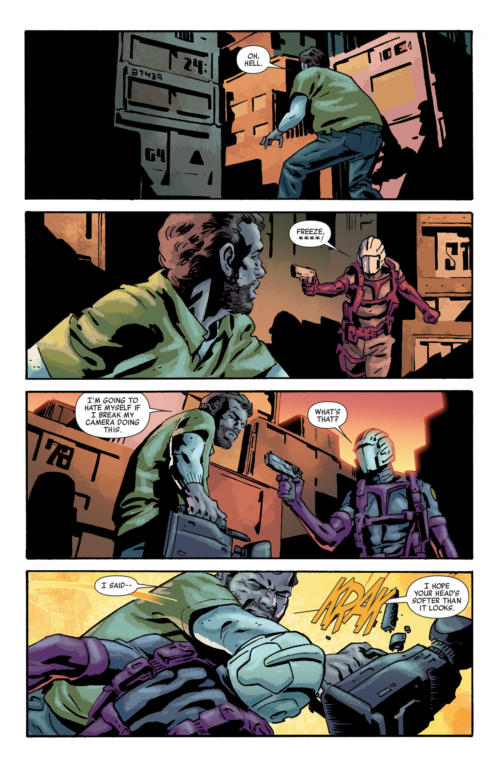 Read online Siege: Embedded comic -  Issue #3 - 5