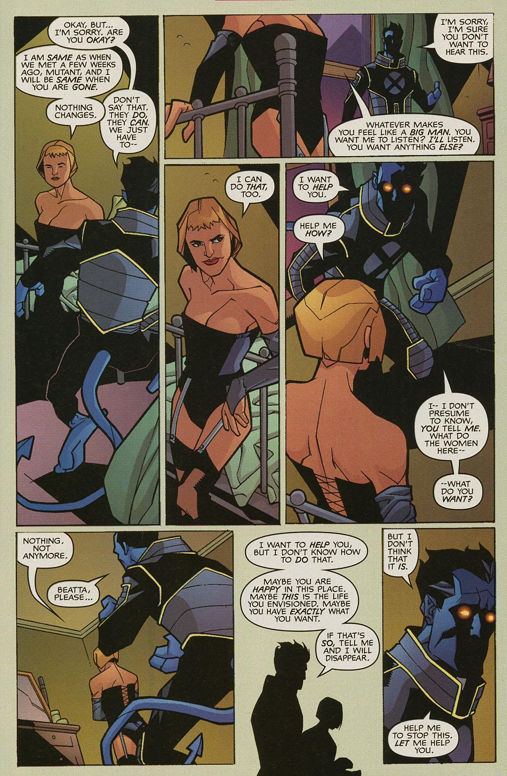 Read online Nightcrawler (2002) comic -  Issue #3 - 4