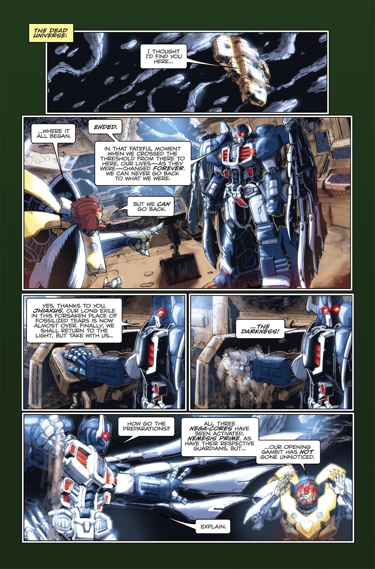 Read online Transformers Spotlight: Hardhead comic -  Issue # Full - 13