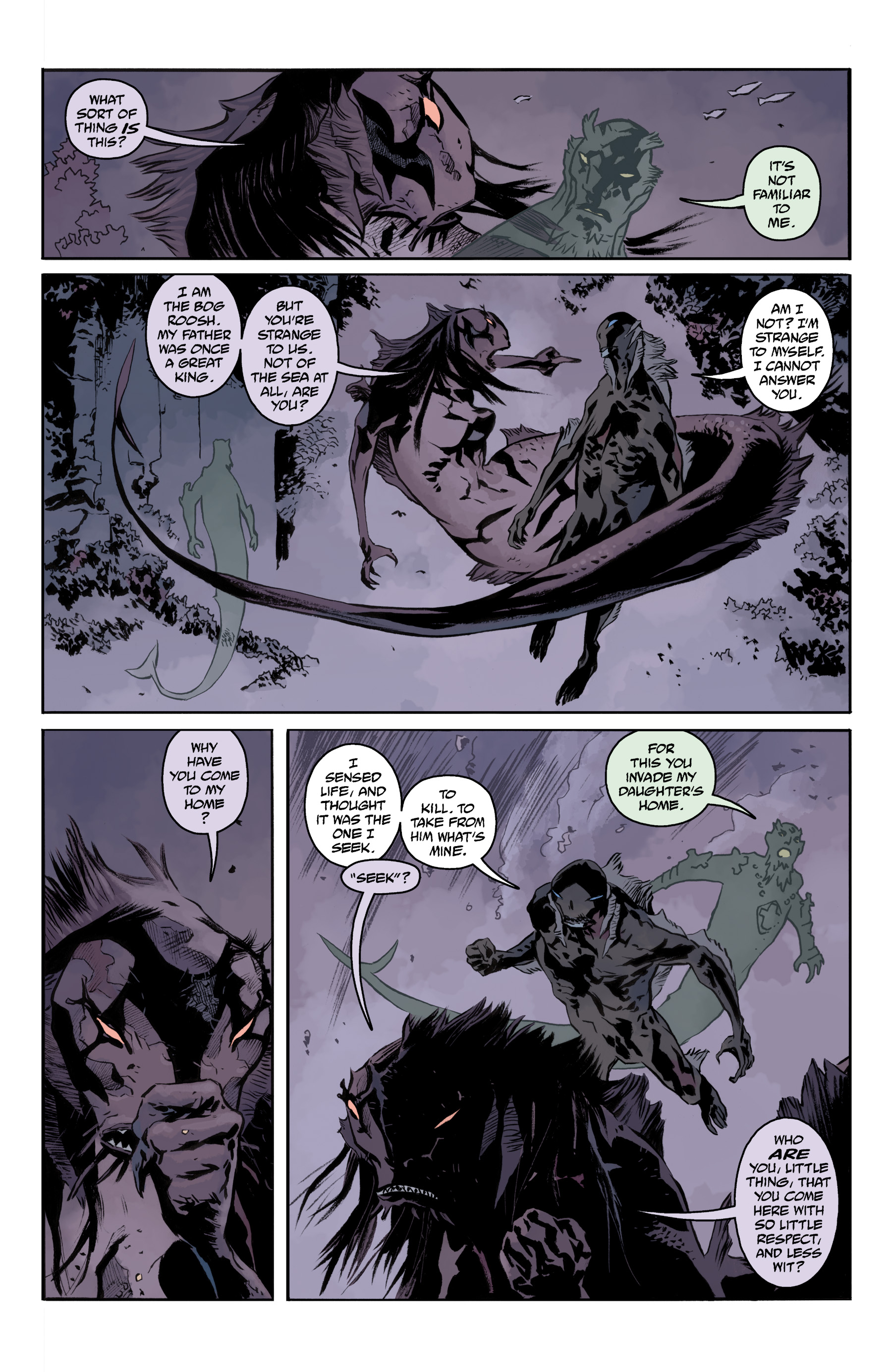 Read online Abe Sapien comic -  Issue #35 - 22