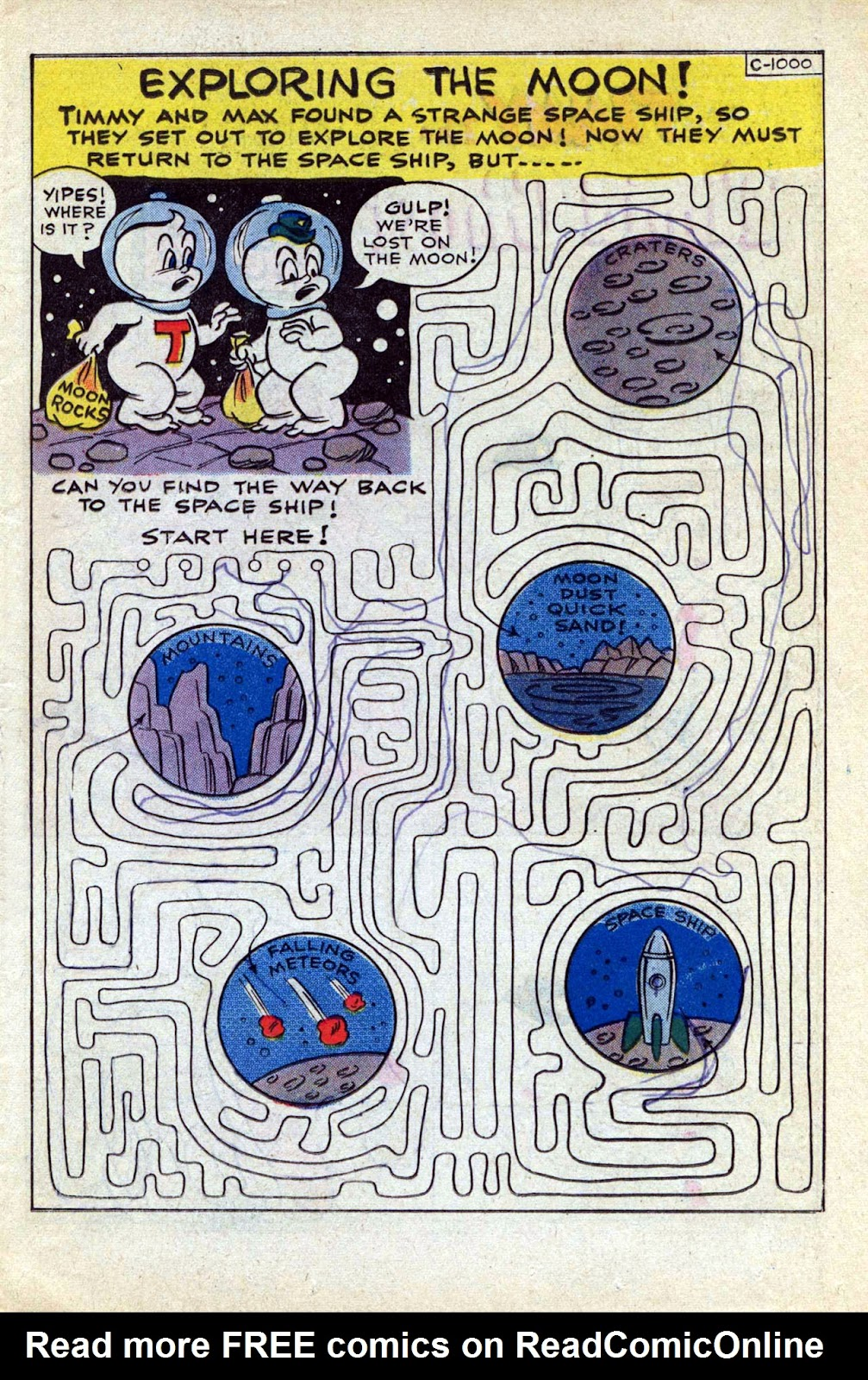 Read online Timmy the Timid Ghost comic -  Issue #17 - 11