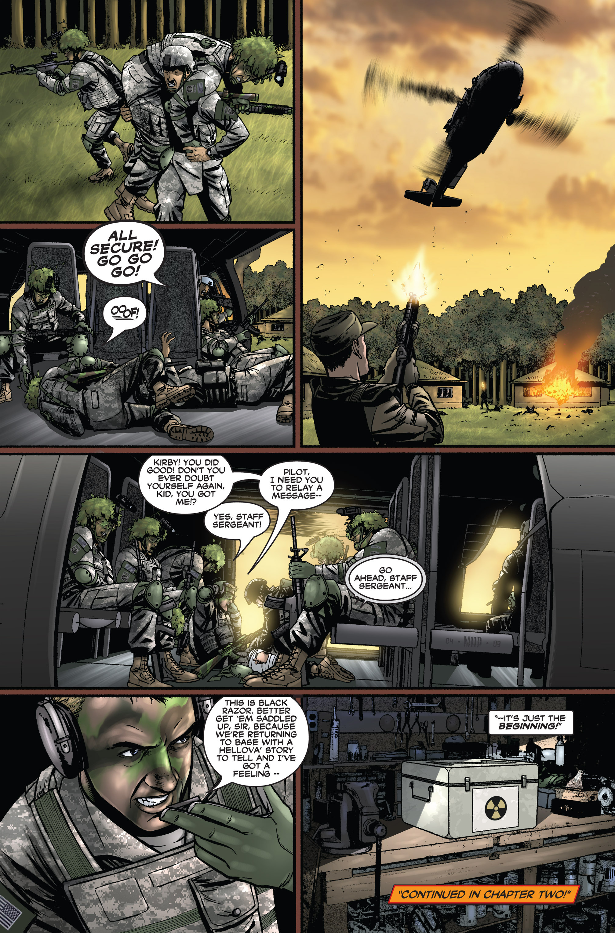 Read online America's Army comic -  Issue #1 - 24