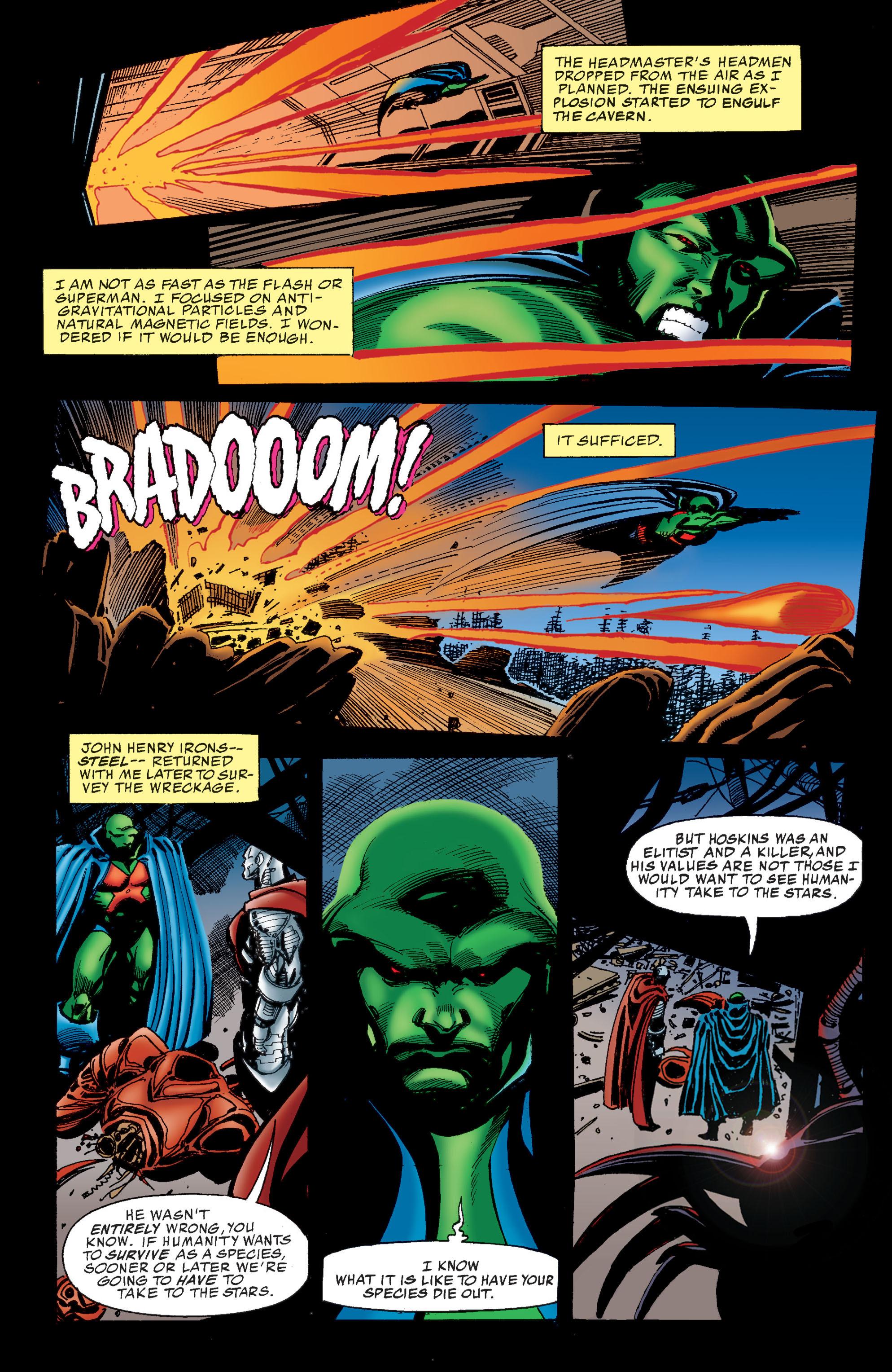 Read online Martian Manhunter: Son of Mars comic -  Issue # TPB - 54