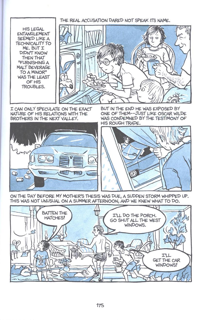 Read online Fun Home: A Family Tragicomic comic -  Issue # TPB - 181