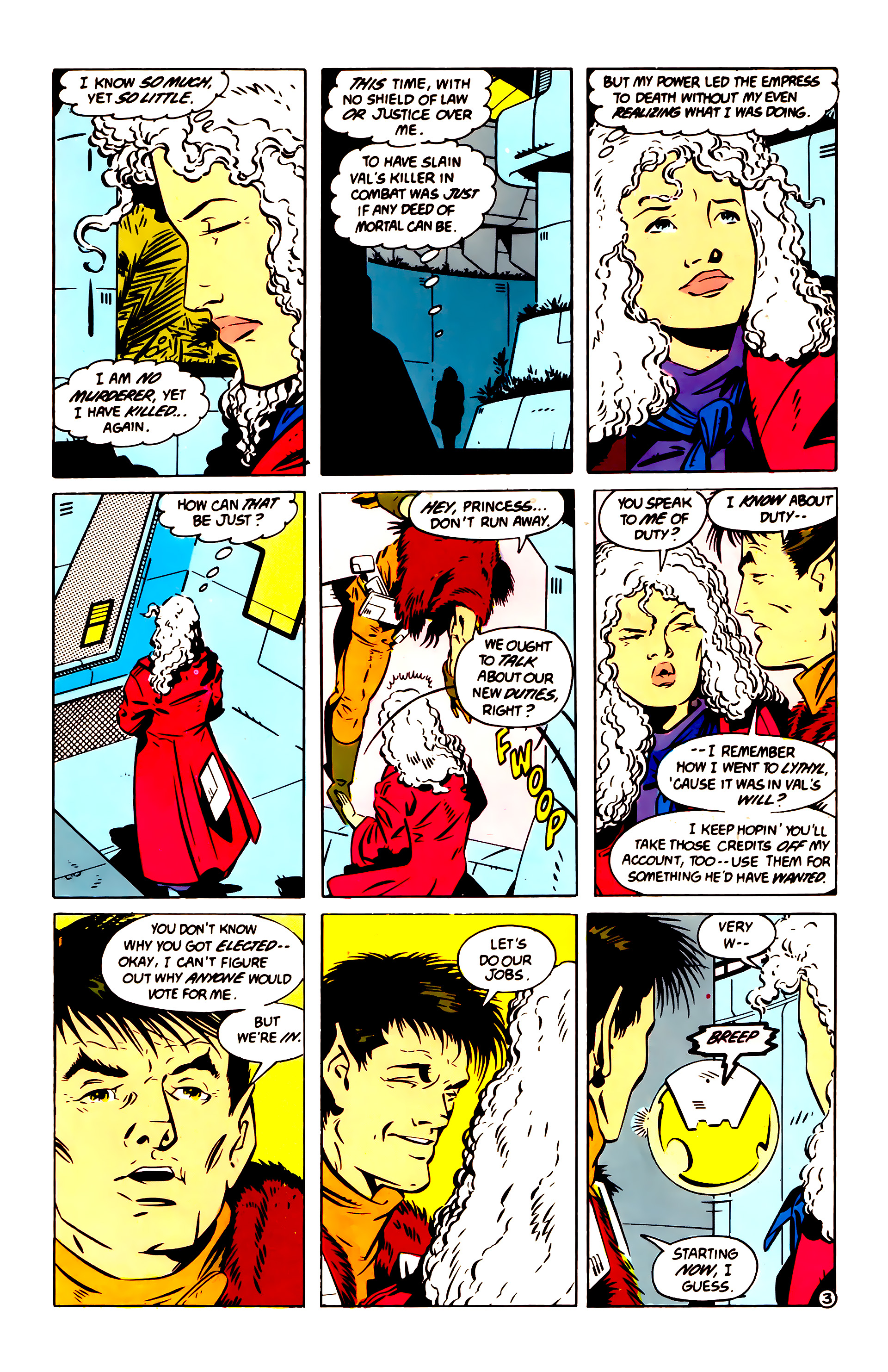 Legion of Super-Heroes (1984) 60 Page 3