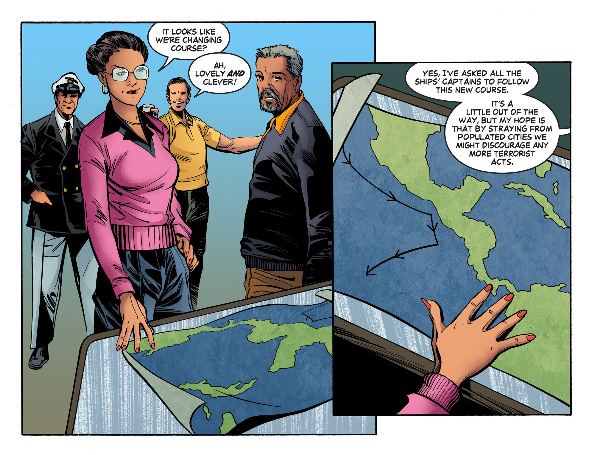 Read online Wonder Woman '77 [I] comic -  Issue #19 - 10