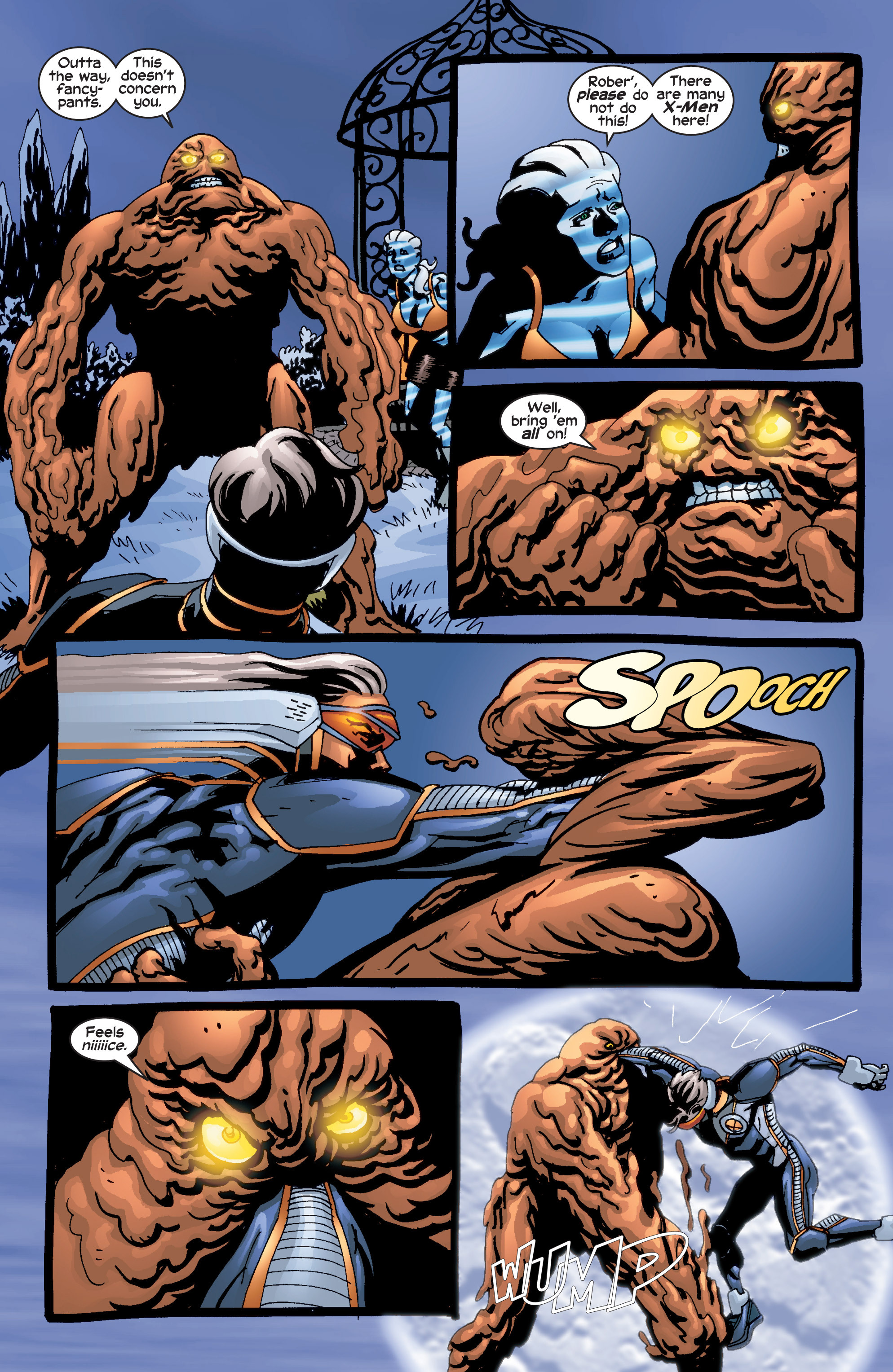 Read online Uncanny X-Men (1963) comic -  Issue #415 - 21