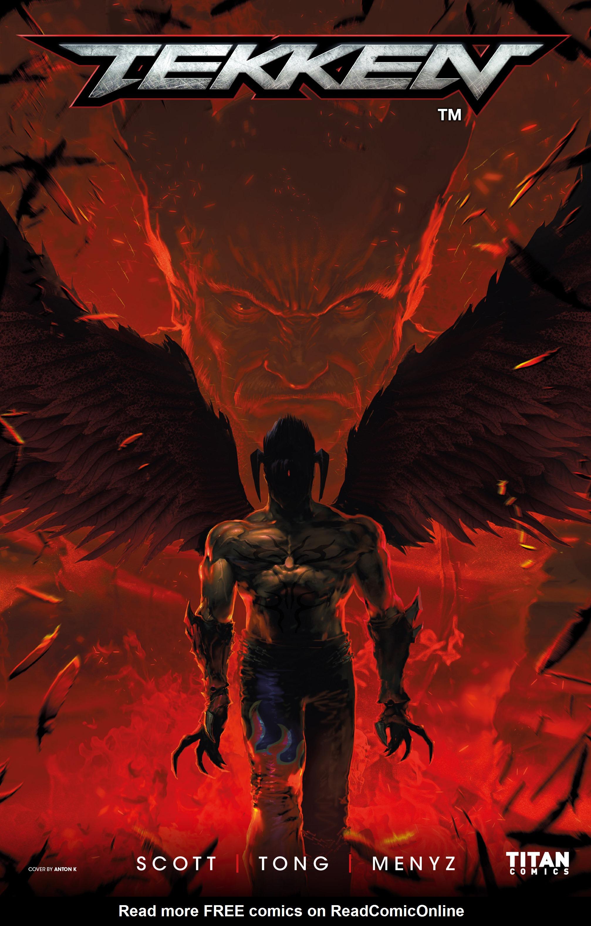Read online Tekken comic -  Issue #1 - 3