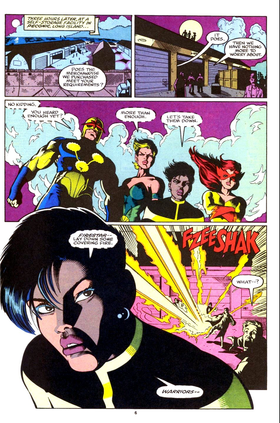 The New Warriors Issue #28 #32 - English 6
