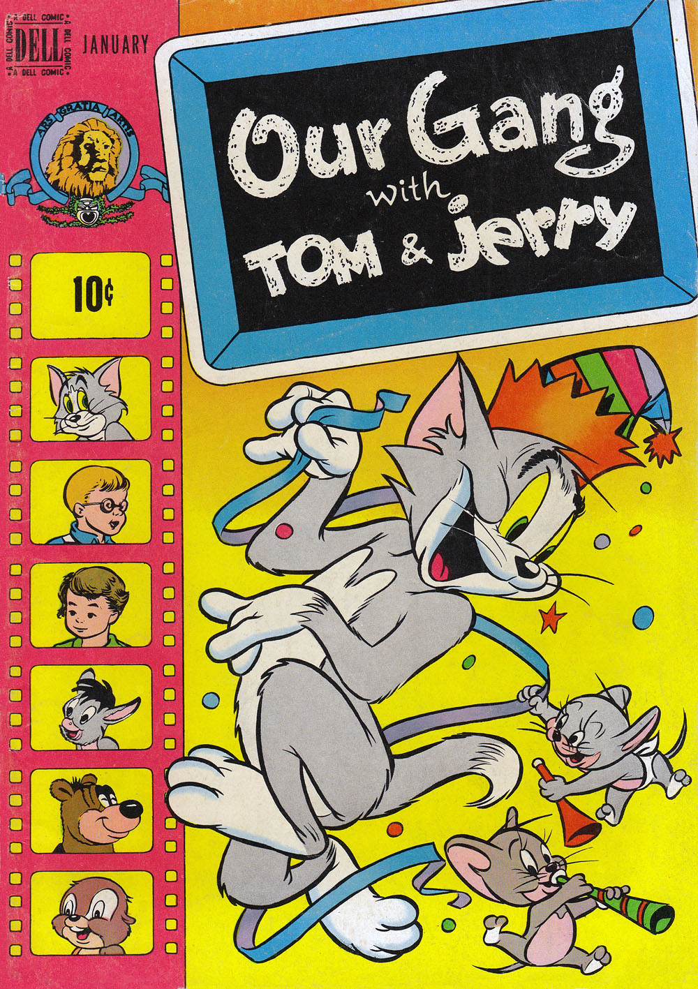 Our Gang with Tom & Jerry 54 Page 1